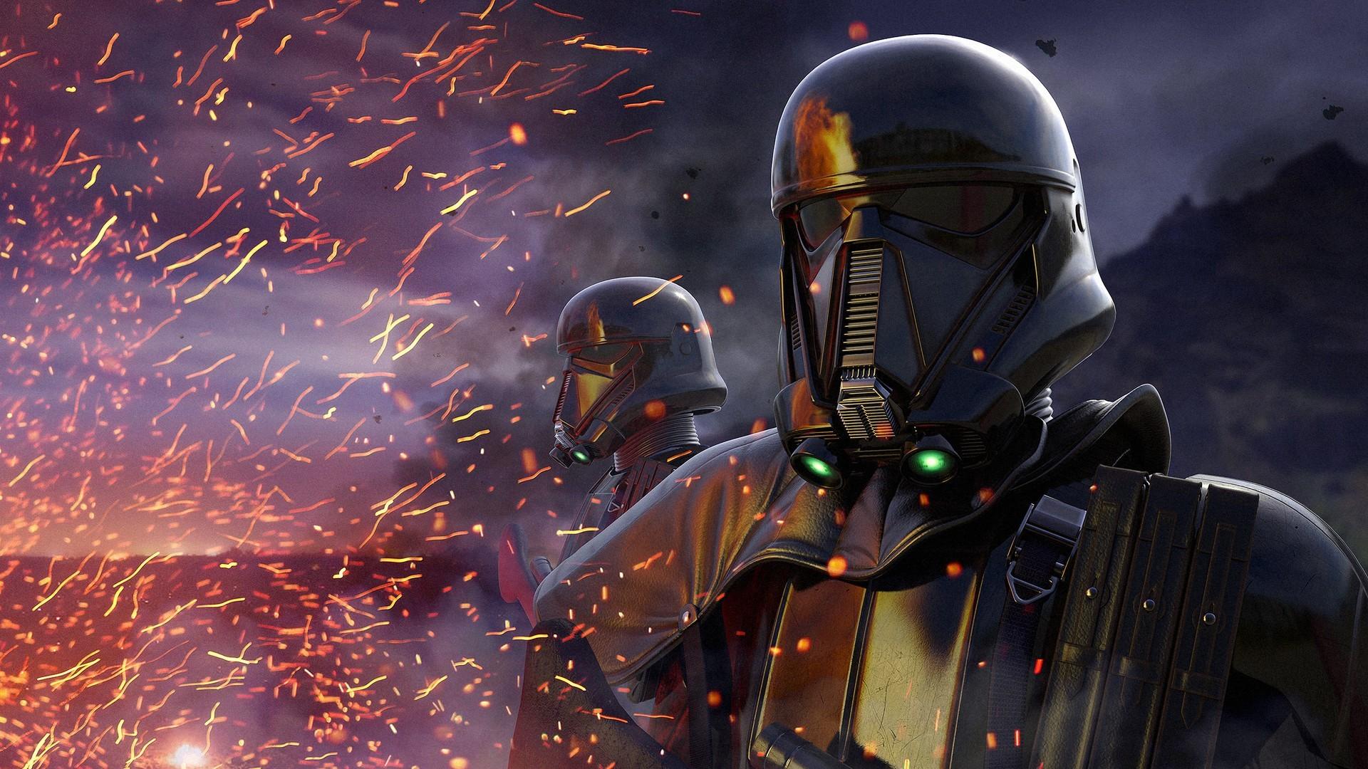 Star Wars Rogue One Wallpaper: Wallpaper : Star Wars, Digital Art, Helmet, Science