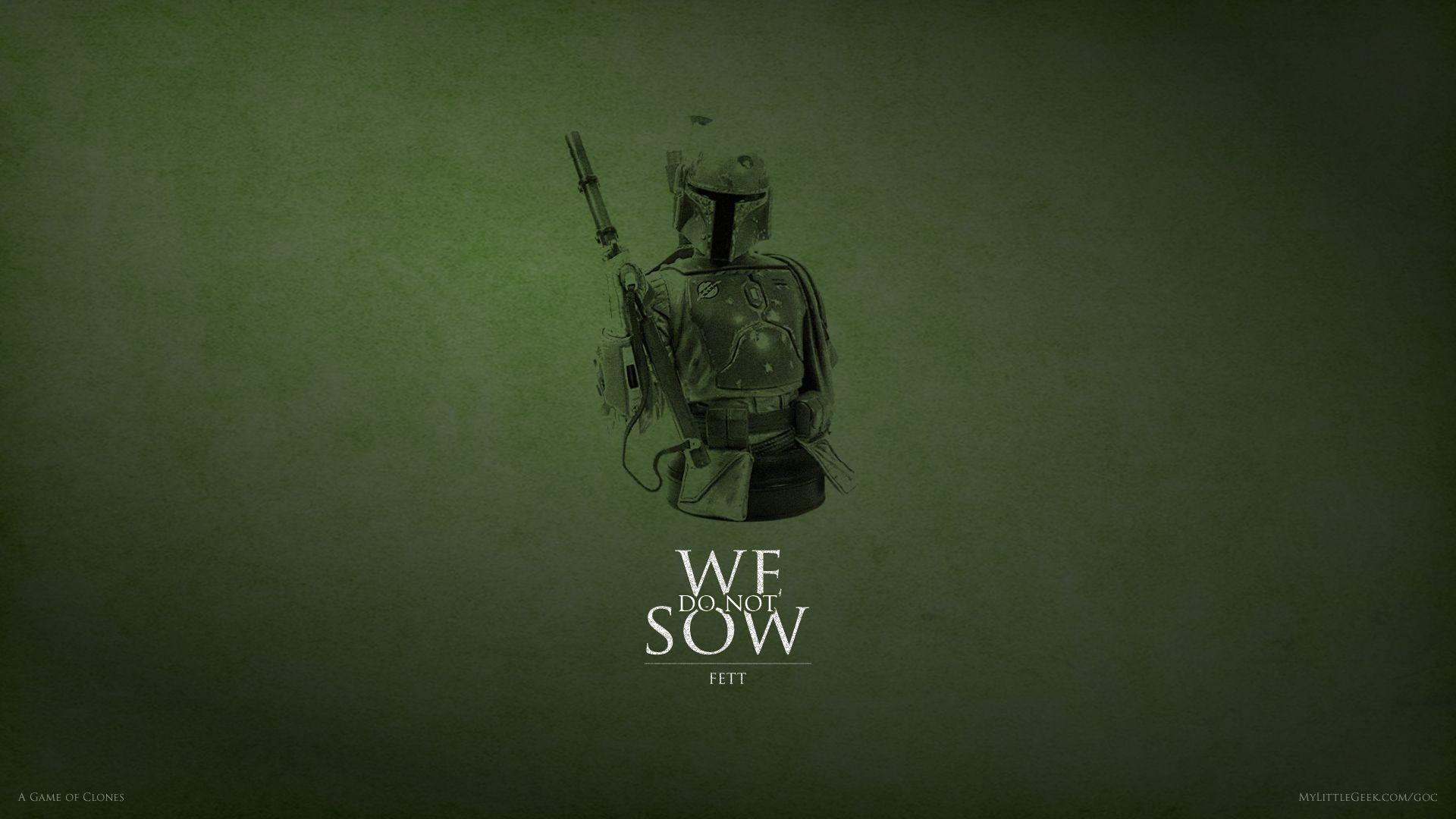 Wallpaper : Star Wars, green, graphic design, Boba Fett