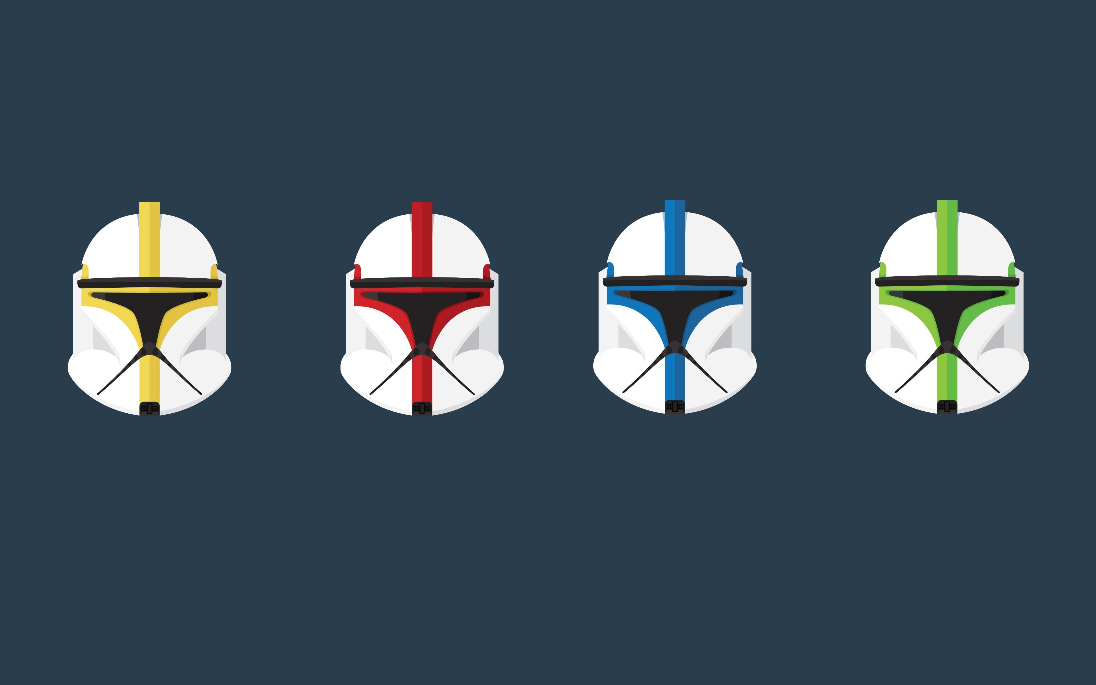 Wallpaper Star Wars Minimalism Logo Clone Trooper