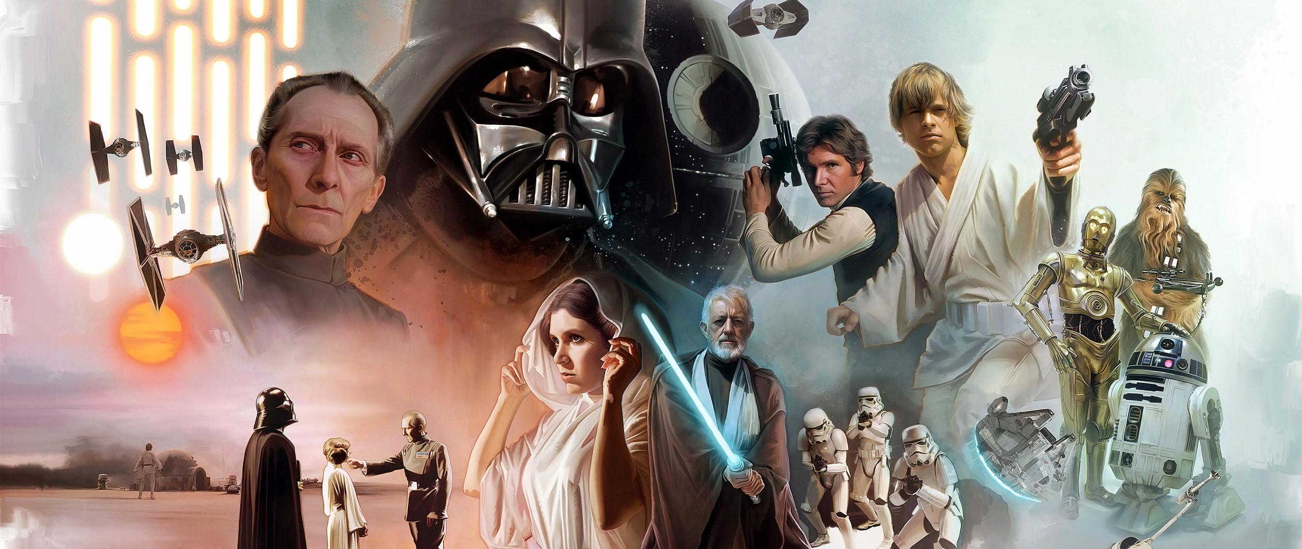 Wallpaper Star Wars Movie Art Ultrawide 2560x1080 Username77 1328427 Hd Wallpapers Wallhere