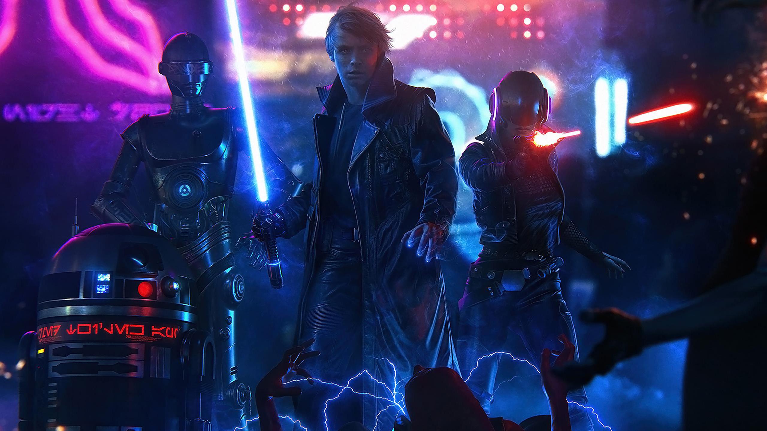 Star Wars neon lightsaber 1585001
