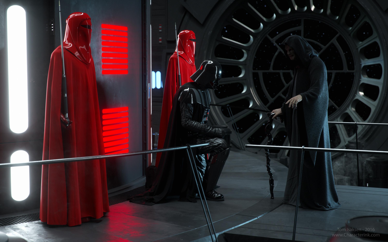Wallpaper Star Wars Science Fiction Emperor Palpatine Star Wars Villains Darth Vader Imperial Guard Artwork Artstation 3000x1875 Wallpapermaniac 1933373 Hd Wallpapers Wallhere