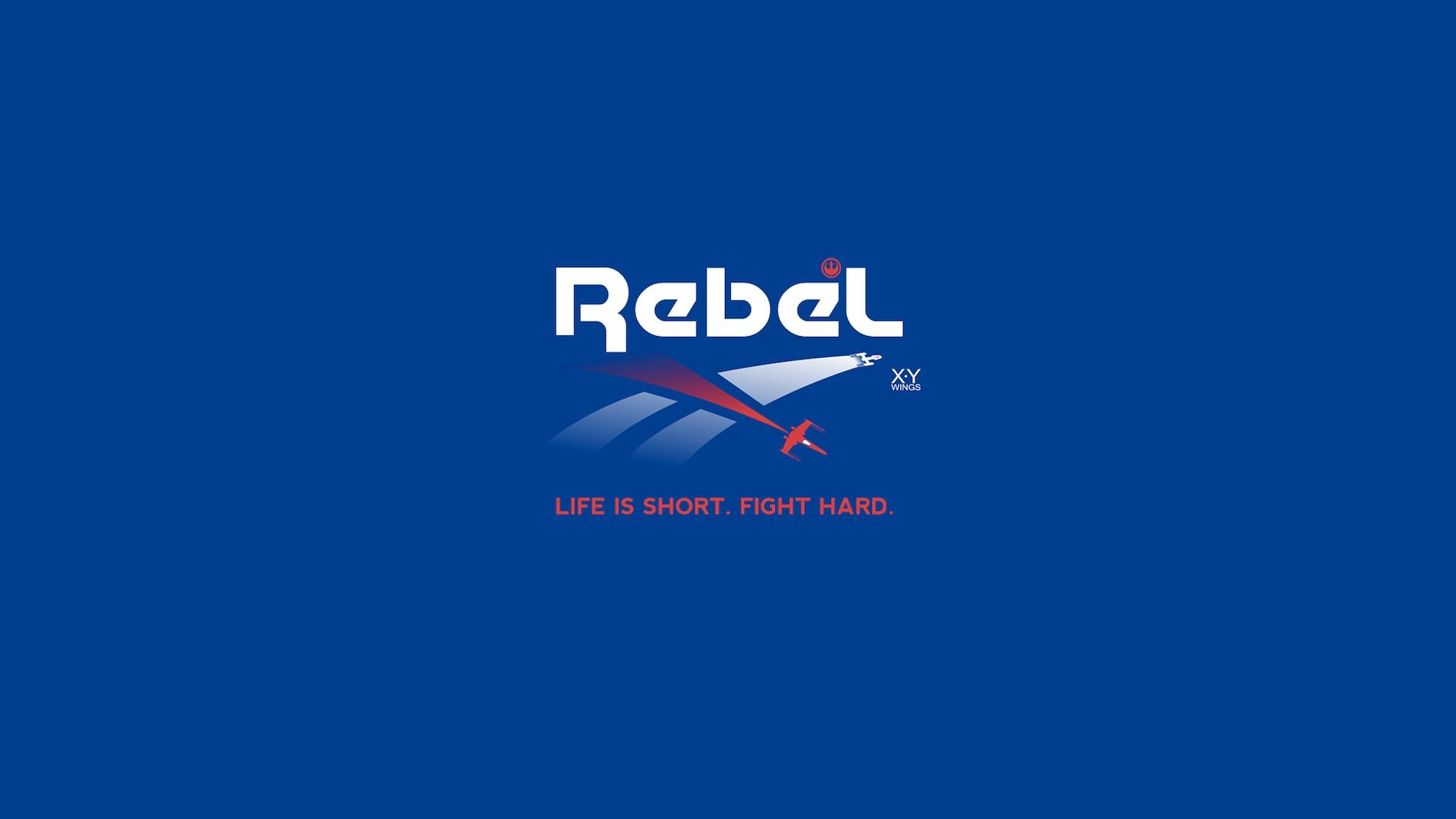 Wallpaper Star Wars Sky Text Logo Blue Graphic Design