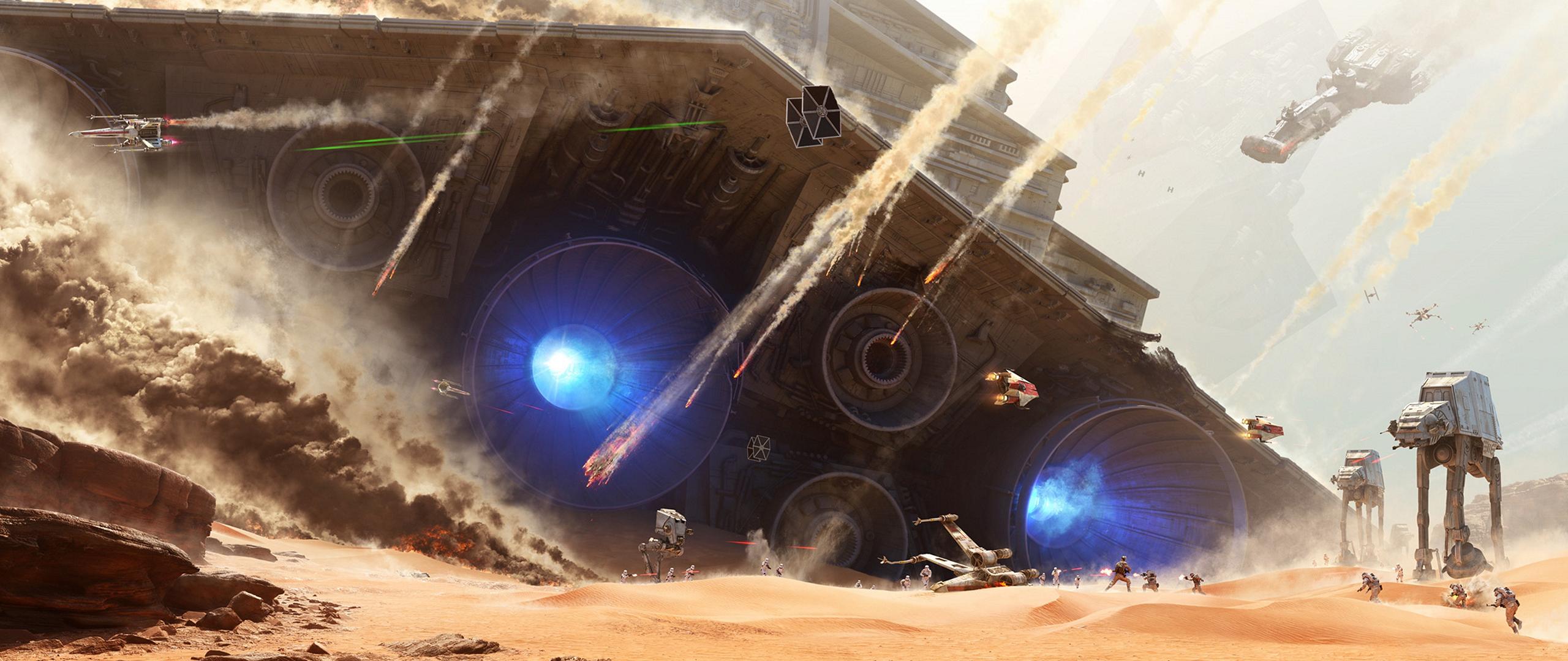 Wallpaper Star Wars Space Ultra Wide Screenshot Atmosphere Of Earth 2560x1080 Ludendorf 23382 Hd Wallpapers Wallhere
