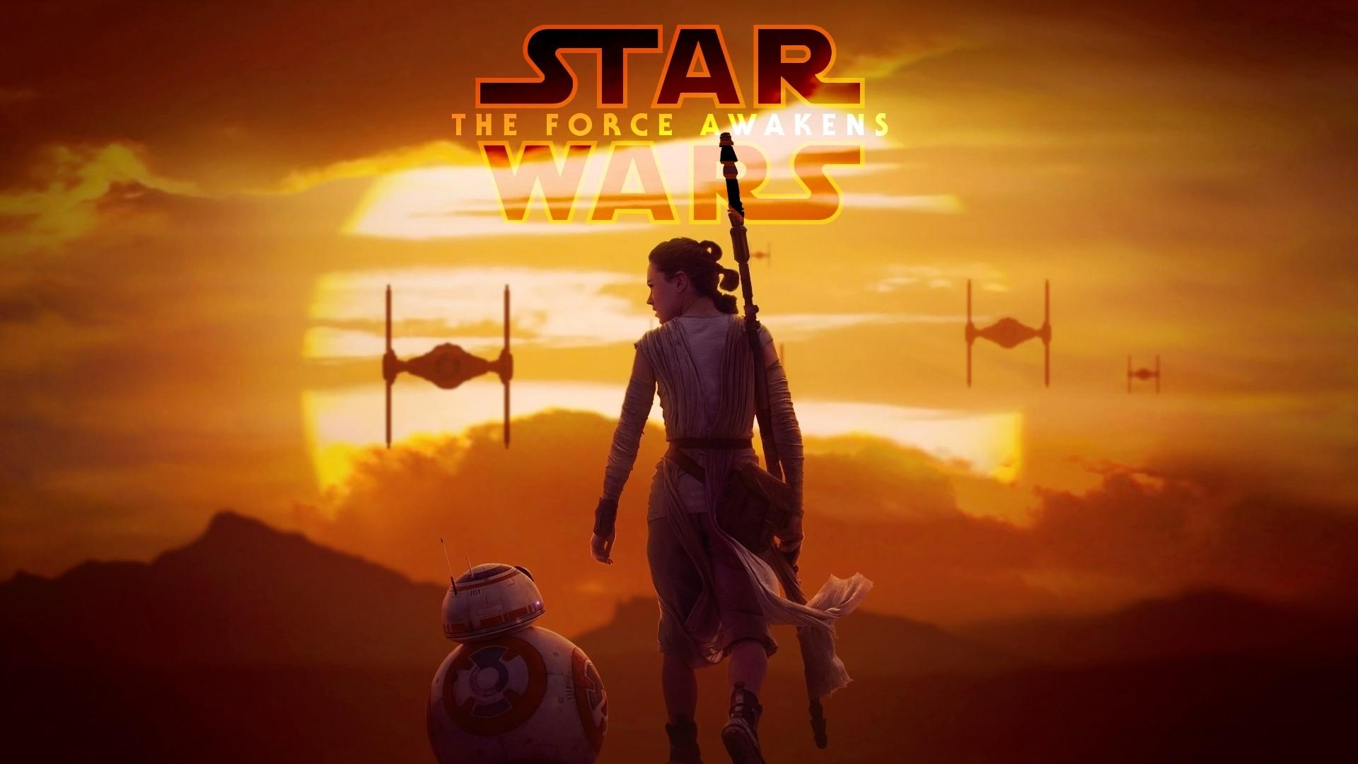 Star Wars Awakens Daisy Ridley BB 8