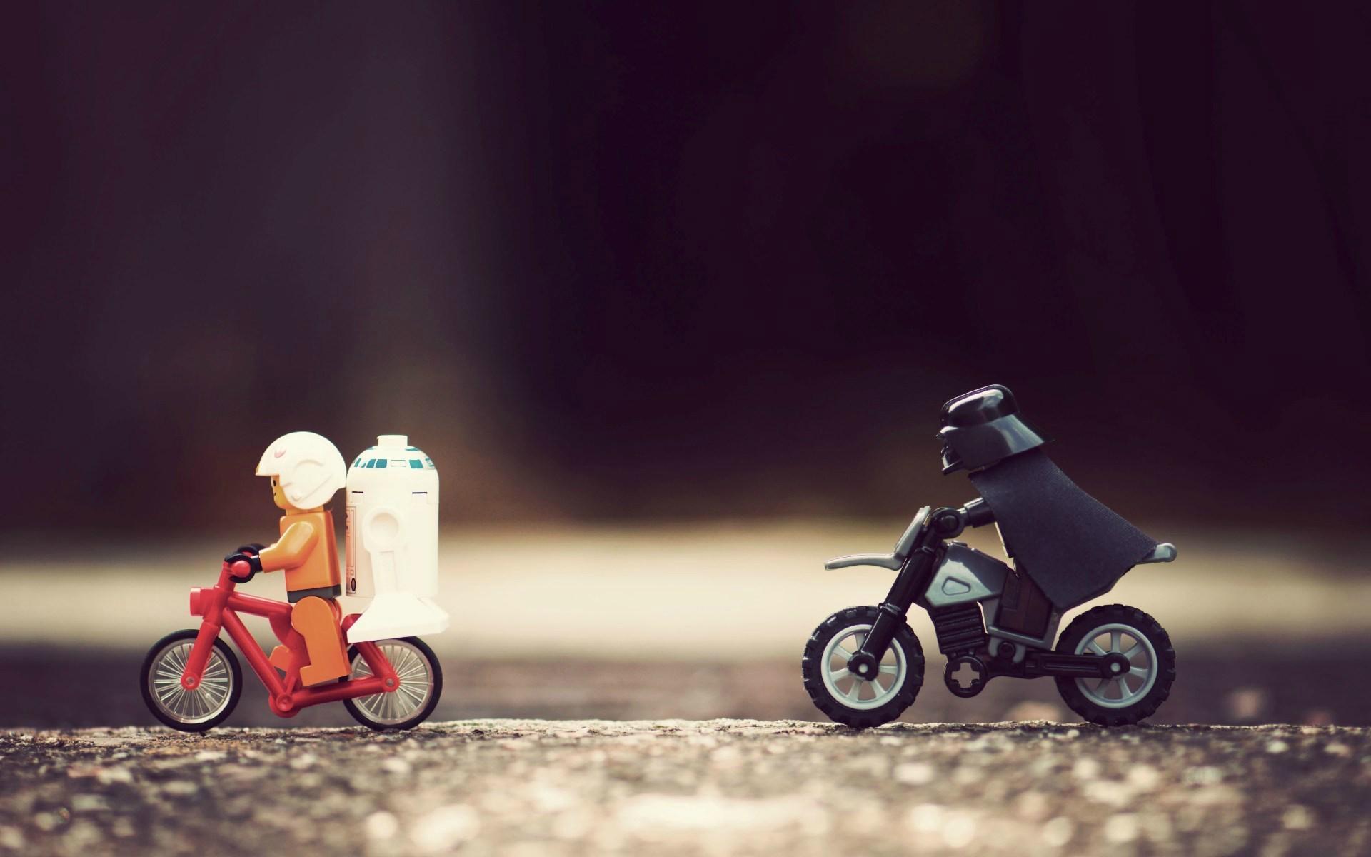 Wallpaper Star Wars Toys Humor Vehicle R2 D2 Darth Vader