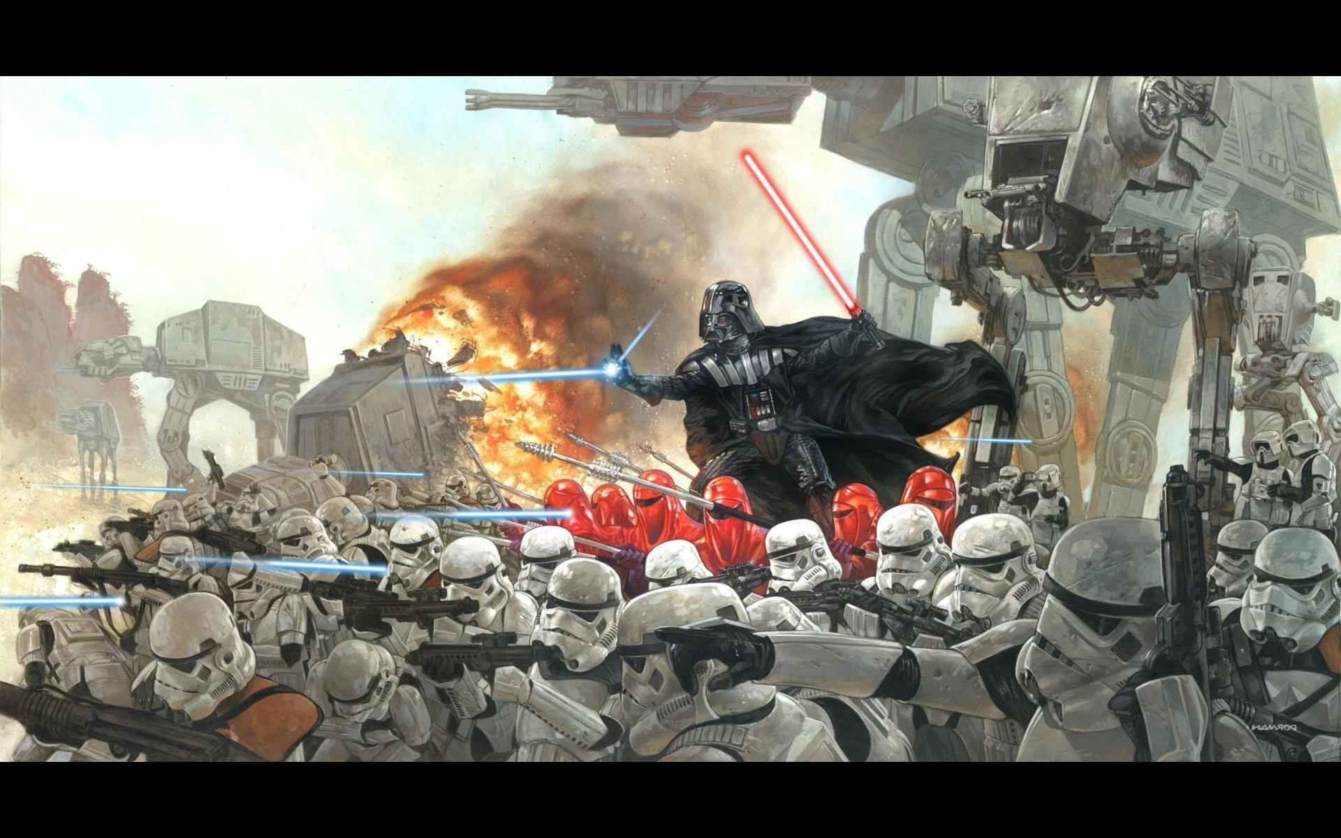 Wallpaper Star Wars War Battle Soldier Darth Vader