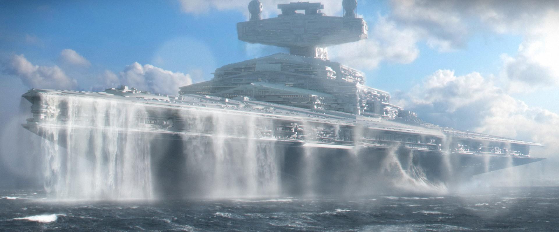 Wallpaper Star Wars Ice Star Destroyer Fountain Landmark Atmospheric Phenomenon Water Feature 1920x800 Ludendorf 22357 Hd Wallpapers Wallhere