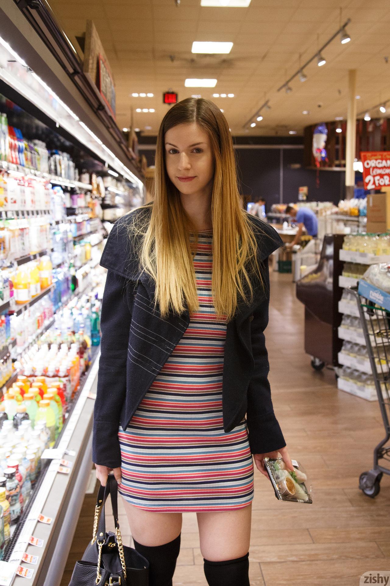 Wallpaper Stella Cox Women Supermarket Dress Jacket