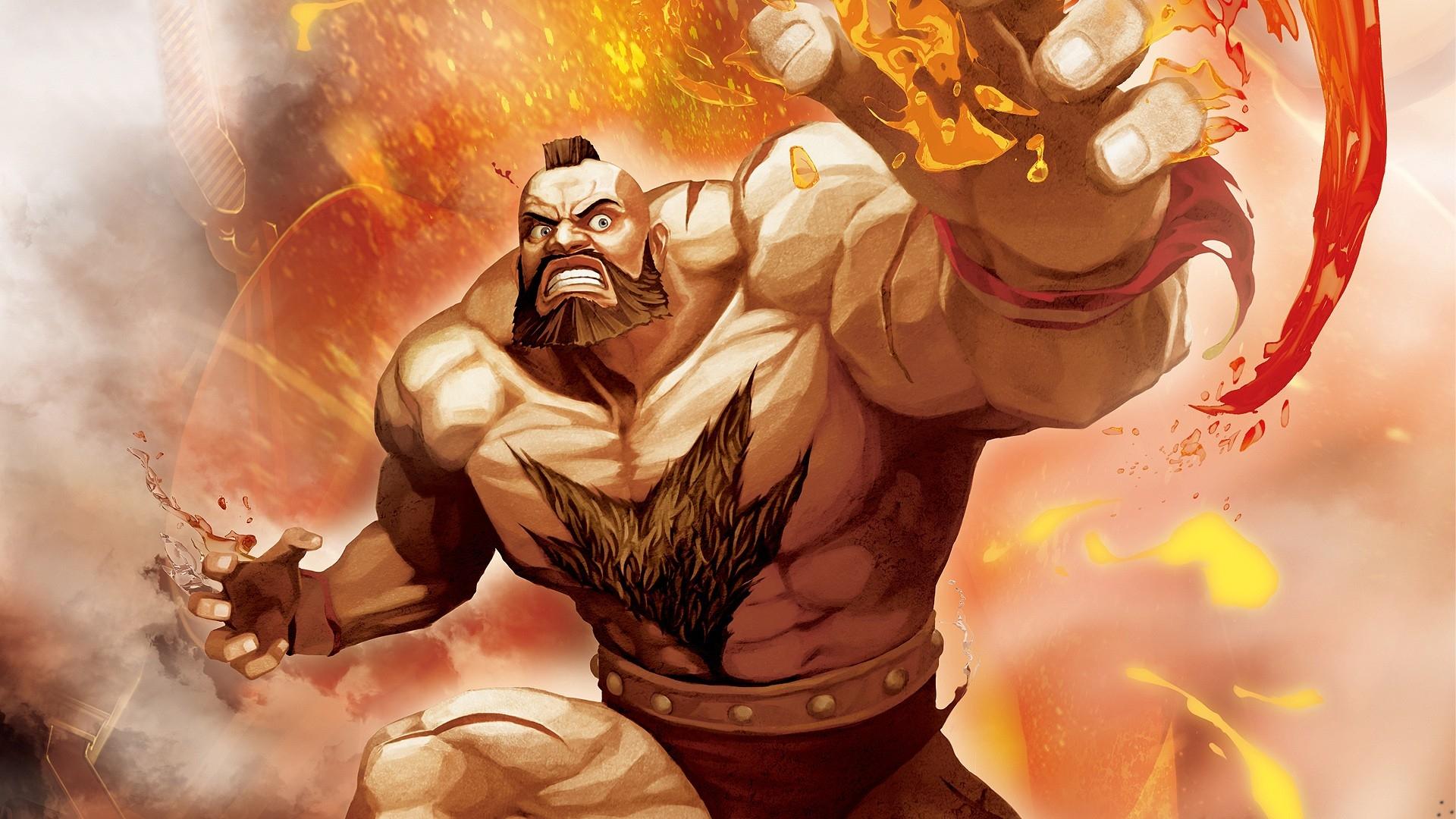 Wallpaper Street Fighter X Tekken Zangief Fighter Hands