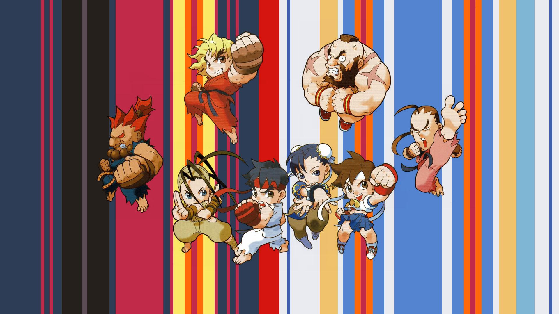 Wallpaper Street Fighter Games Art Ryu Street Fighter Chun Li