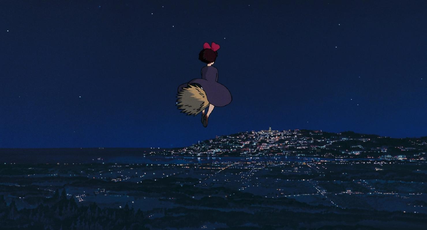Wallpaper Studio Ghibli Kiki S Delivery Service Anime Girls