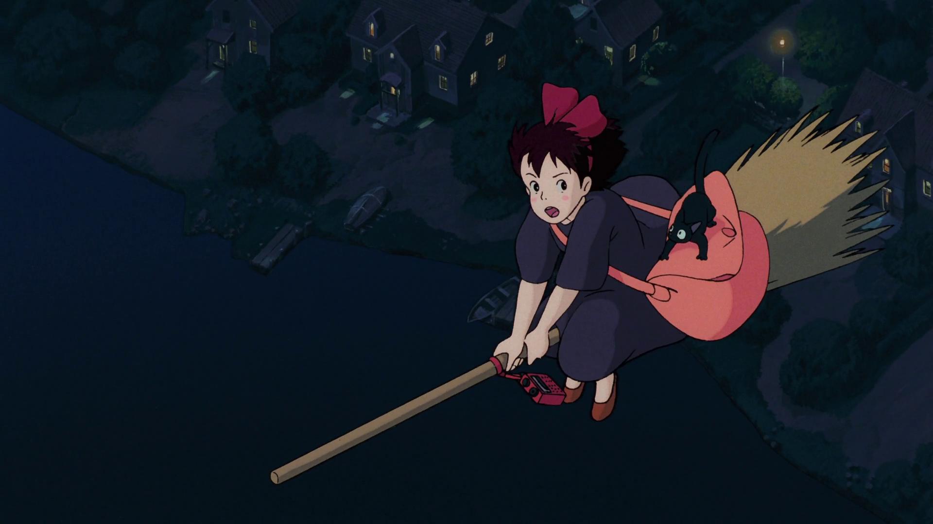 Wallpaper Studio Ghibli Kiki S Delivery Service Anime Film