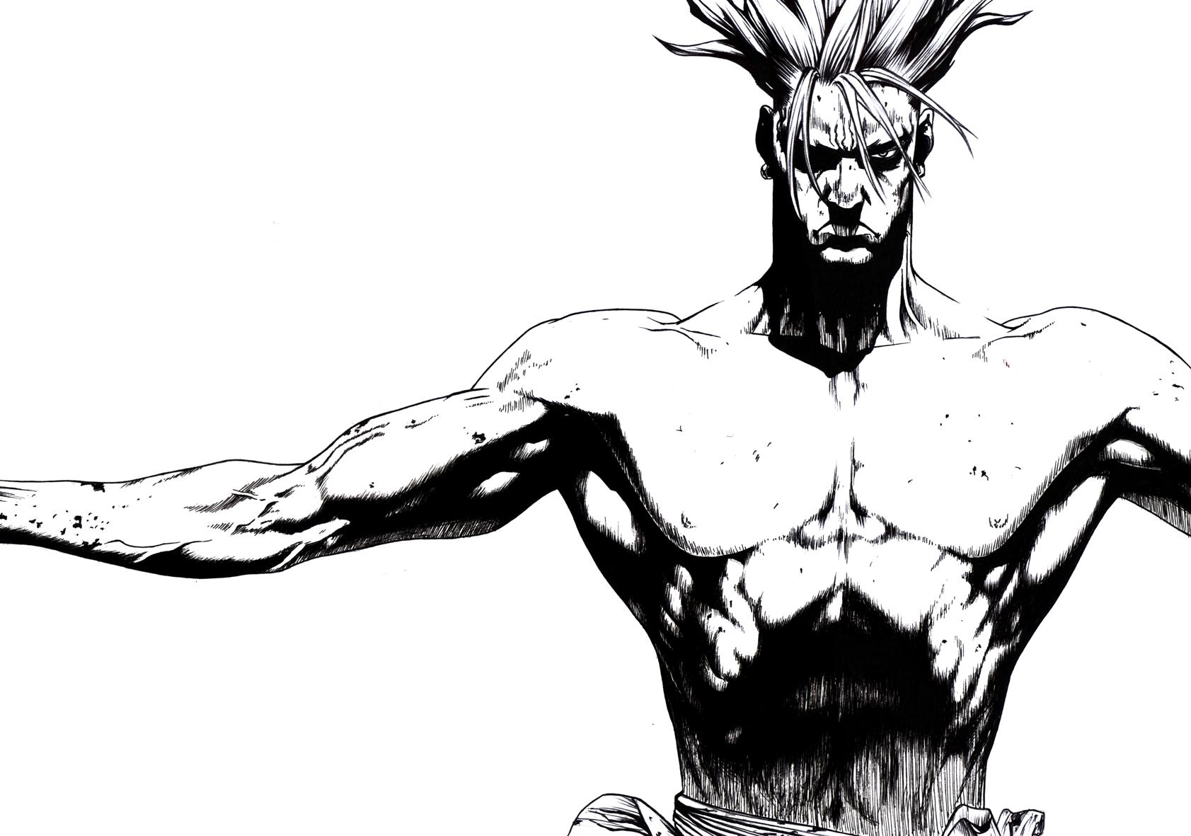 Fondos De Pantalla Sun Ken Rock Manga 1683x1181