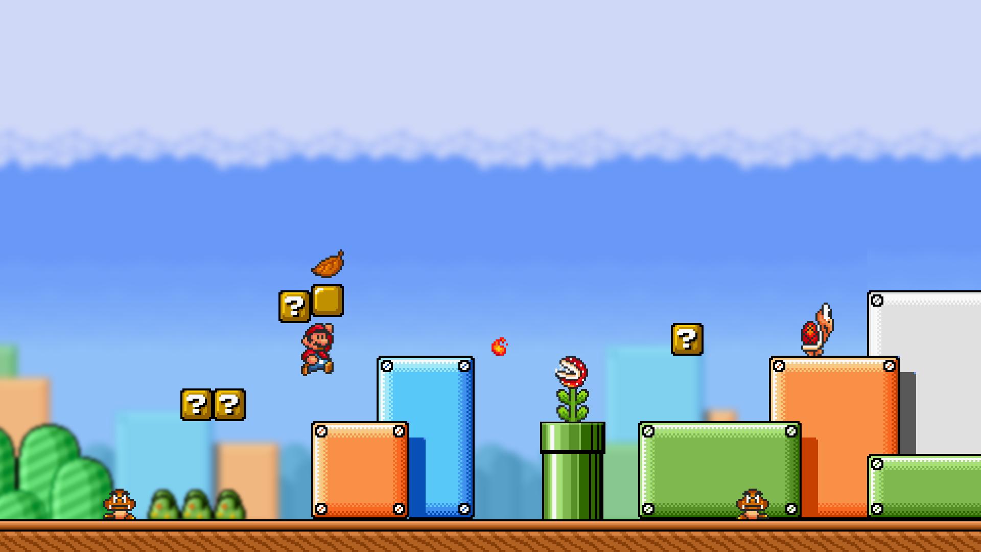 Wallpaper Super Mario Video Games Super Mario Bros 3 1920x1080