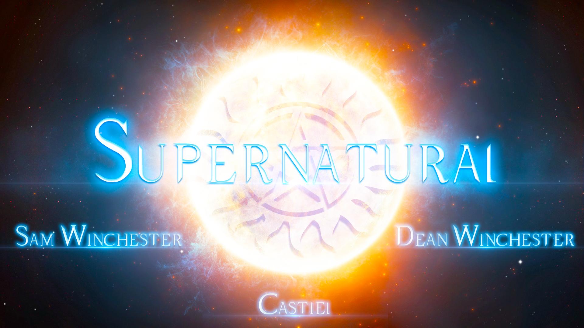 Wallpaper Supernatural Fan Art Sam Winchester Dean Winchester