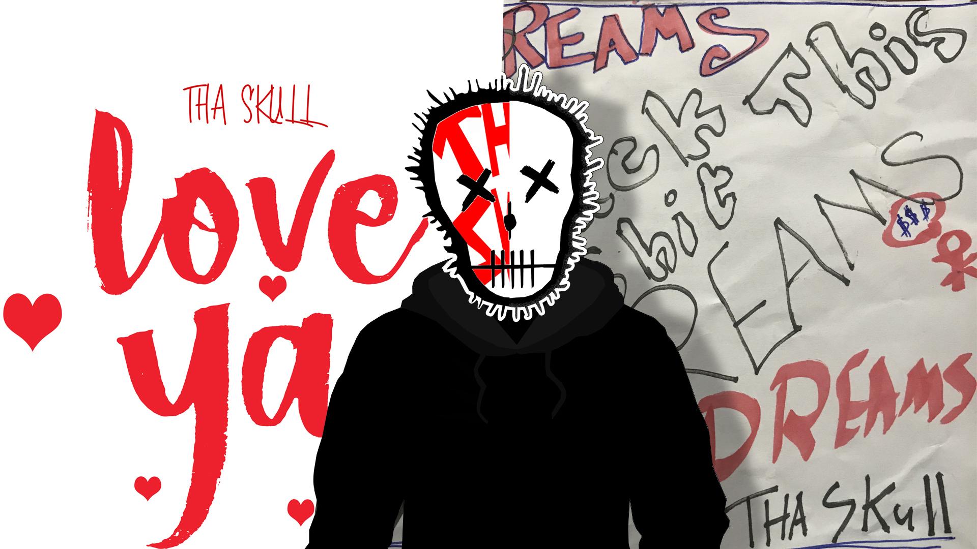 デスクトップ壁紙 Tha Skull ラップ ヒップホップ アートワーク 音楽 歌手 ラッパー 頭蓋骨 歌う 19x1080 Kangyifan デスクトップ壁紙 Wallhere