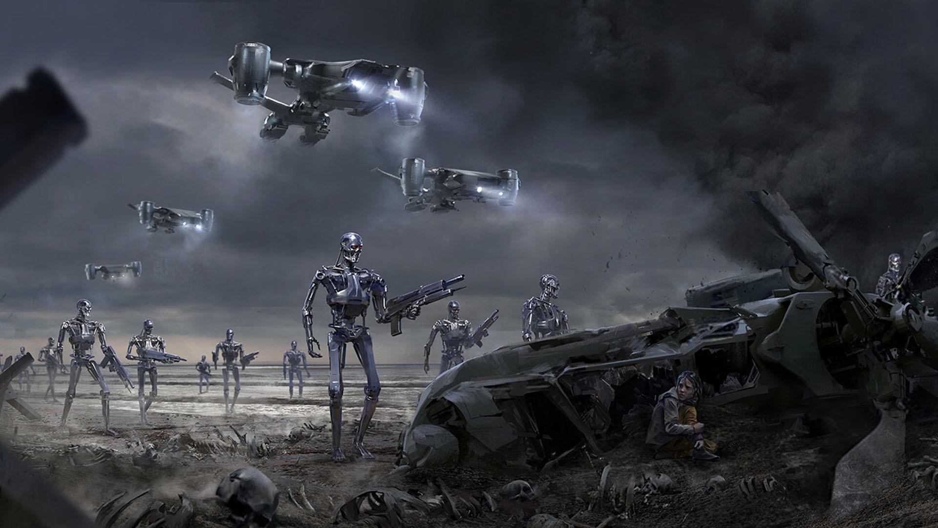 Wallpaper : Terminator, apocalyptic