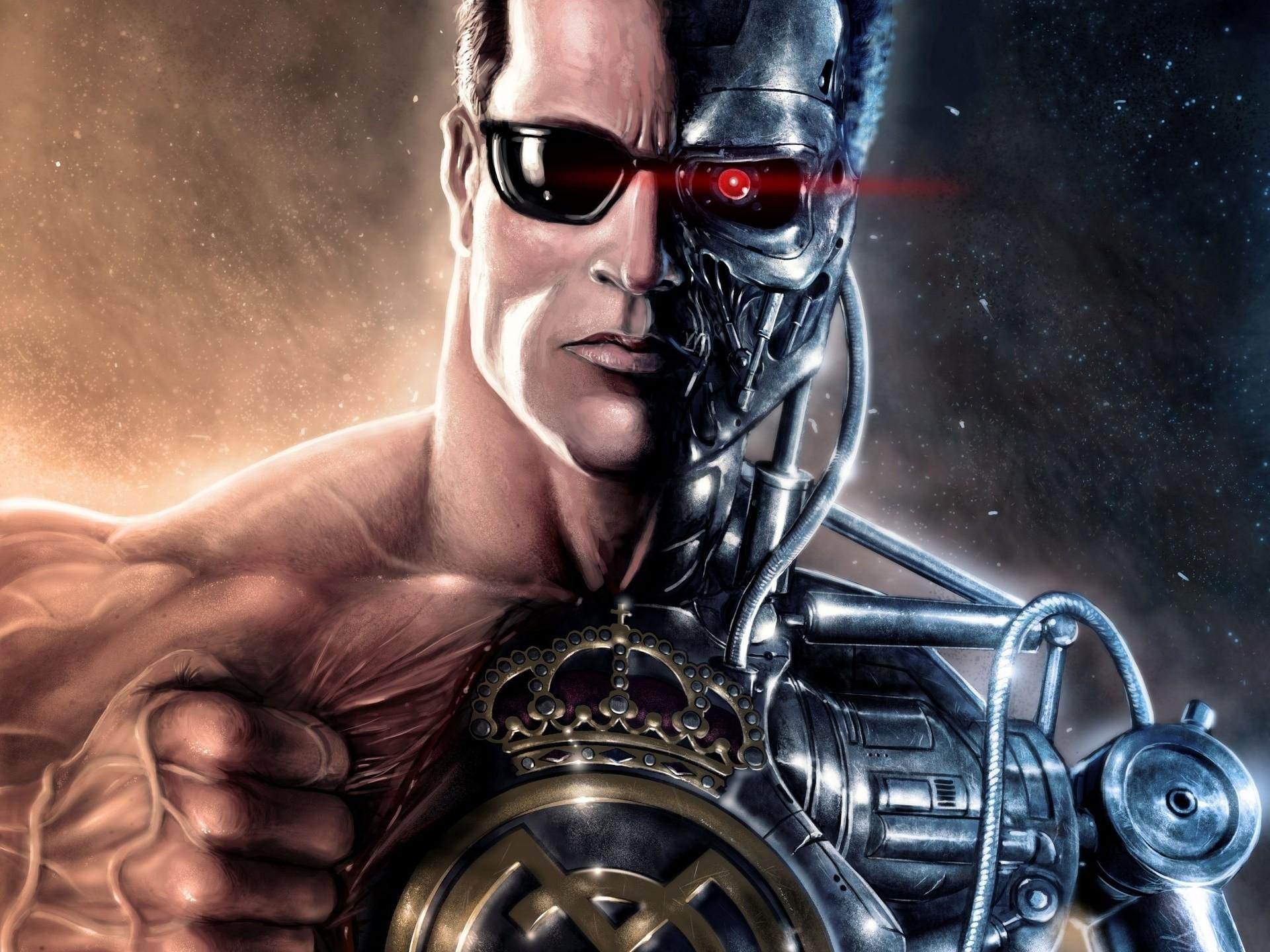 wallpaper terminator artwork movies cyborg screenshot rh wallhere com