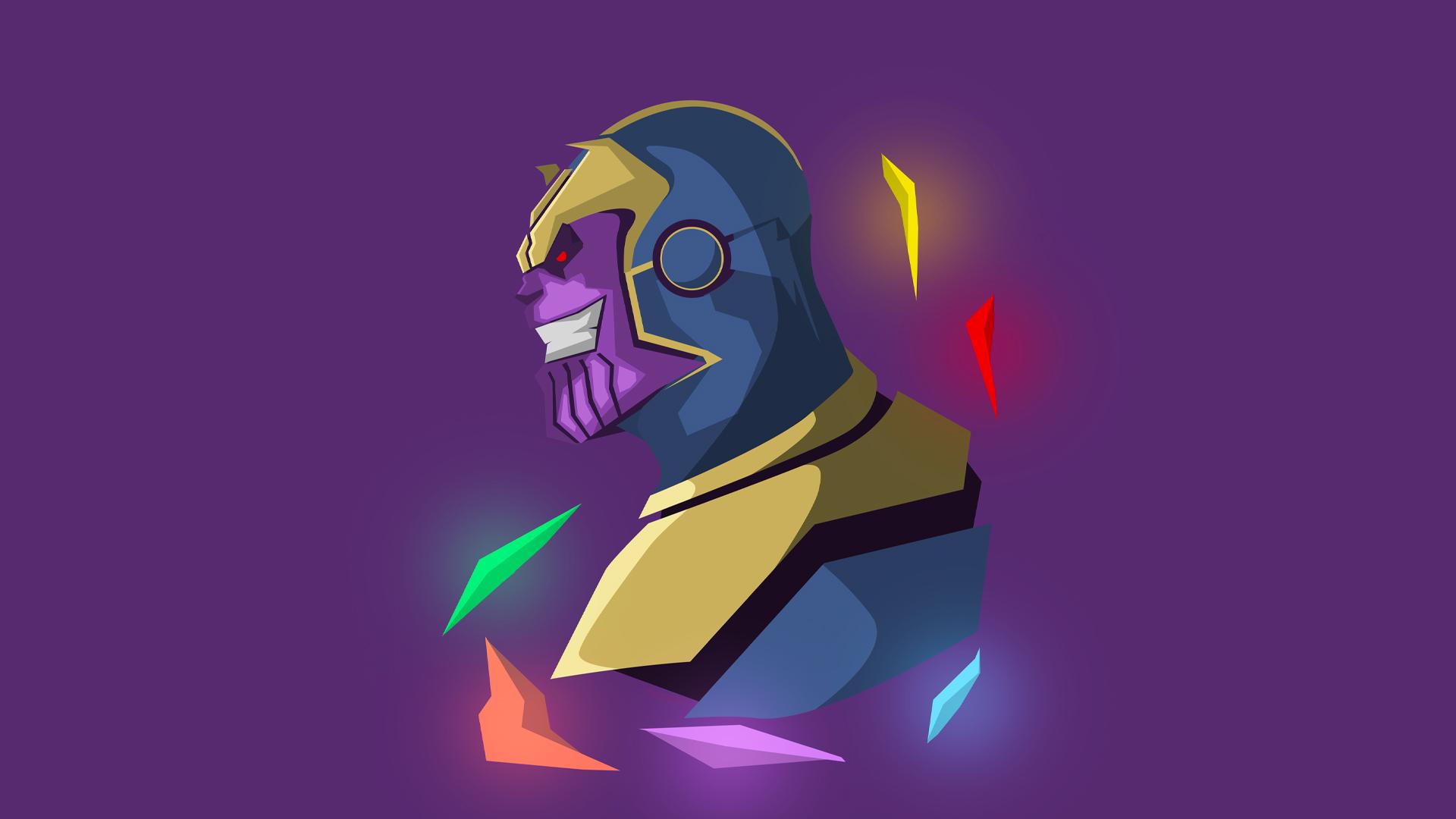 Wallpaper Thanos Marvel Cinematic Universe Marvel Comics