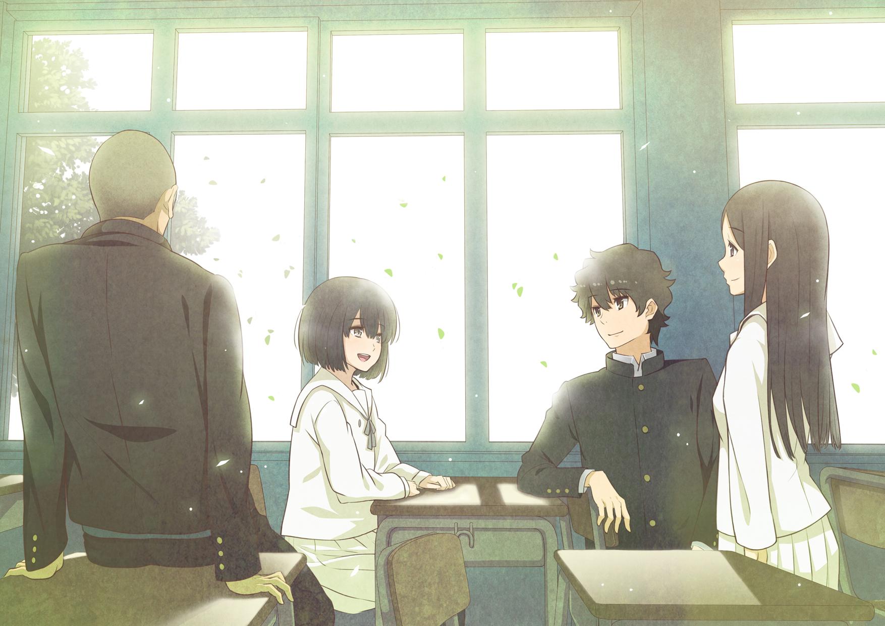 Wallpaper The Anthem Of The Heart Naruse Jun Sakagami Takumi