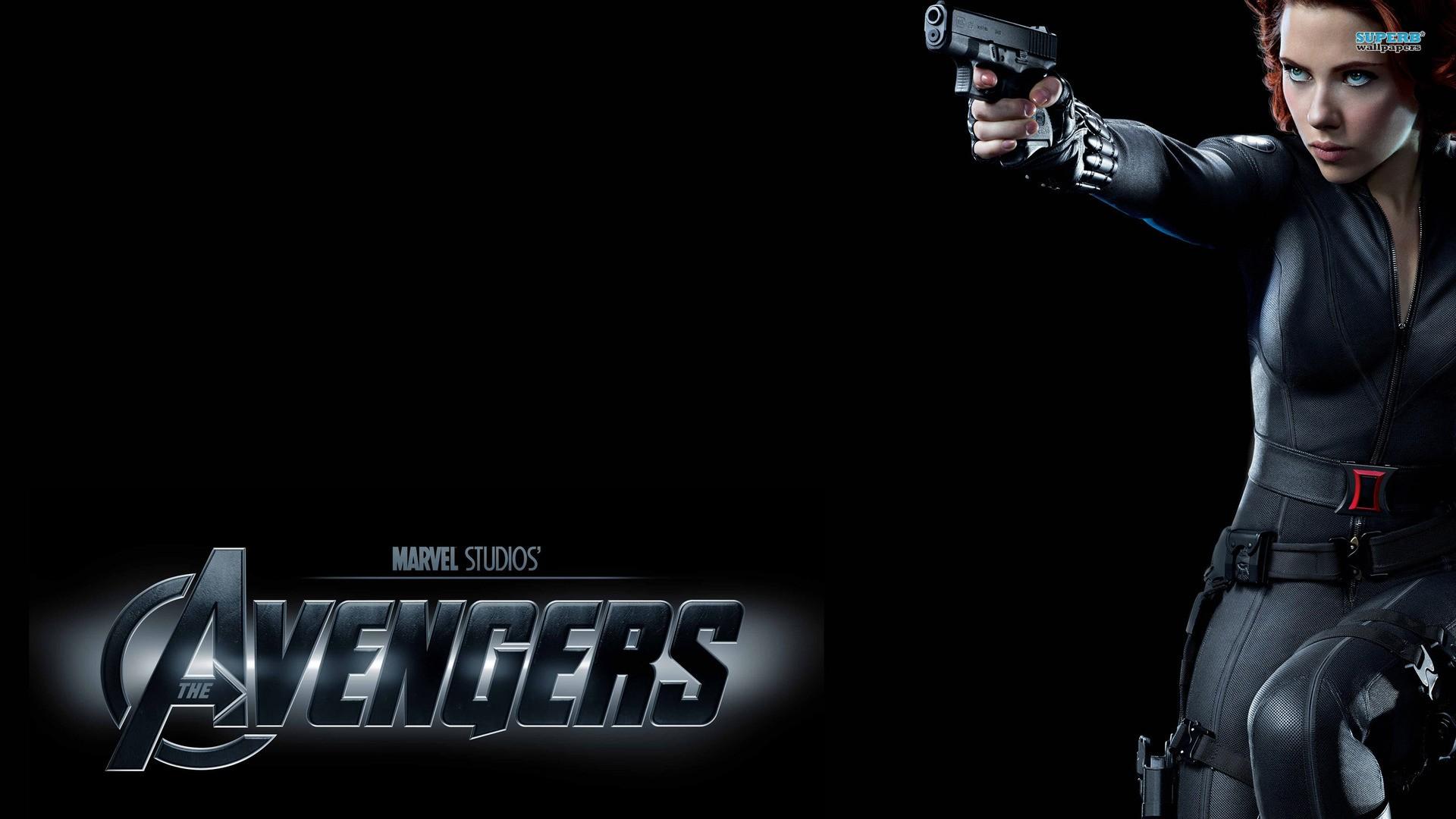 Wallpaper The Avengers Scarlett Johansson Black Widow