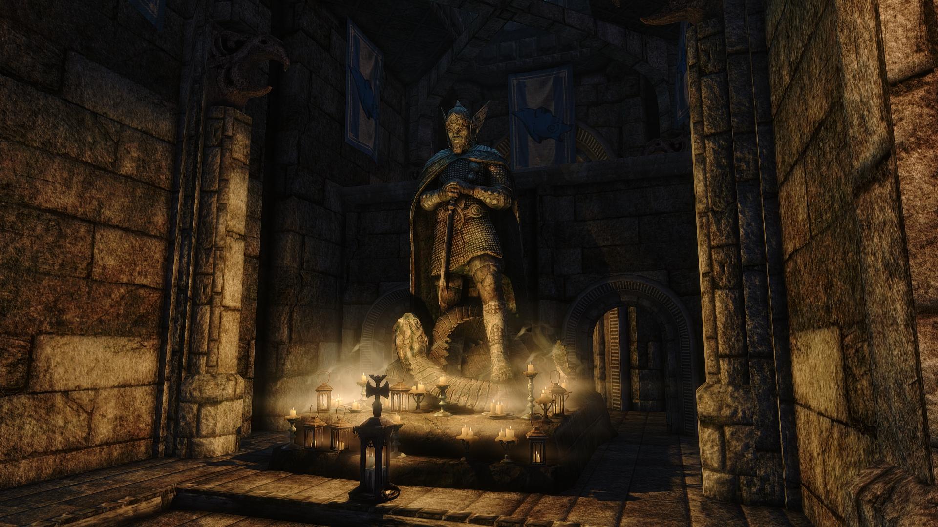 วอลเปเปอร์ : Elder Scrolls V Skyrim, Elder Scrolls, ENB