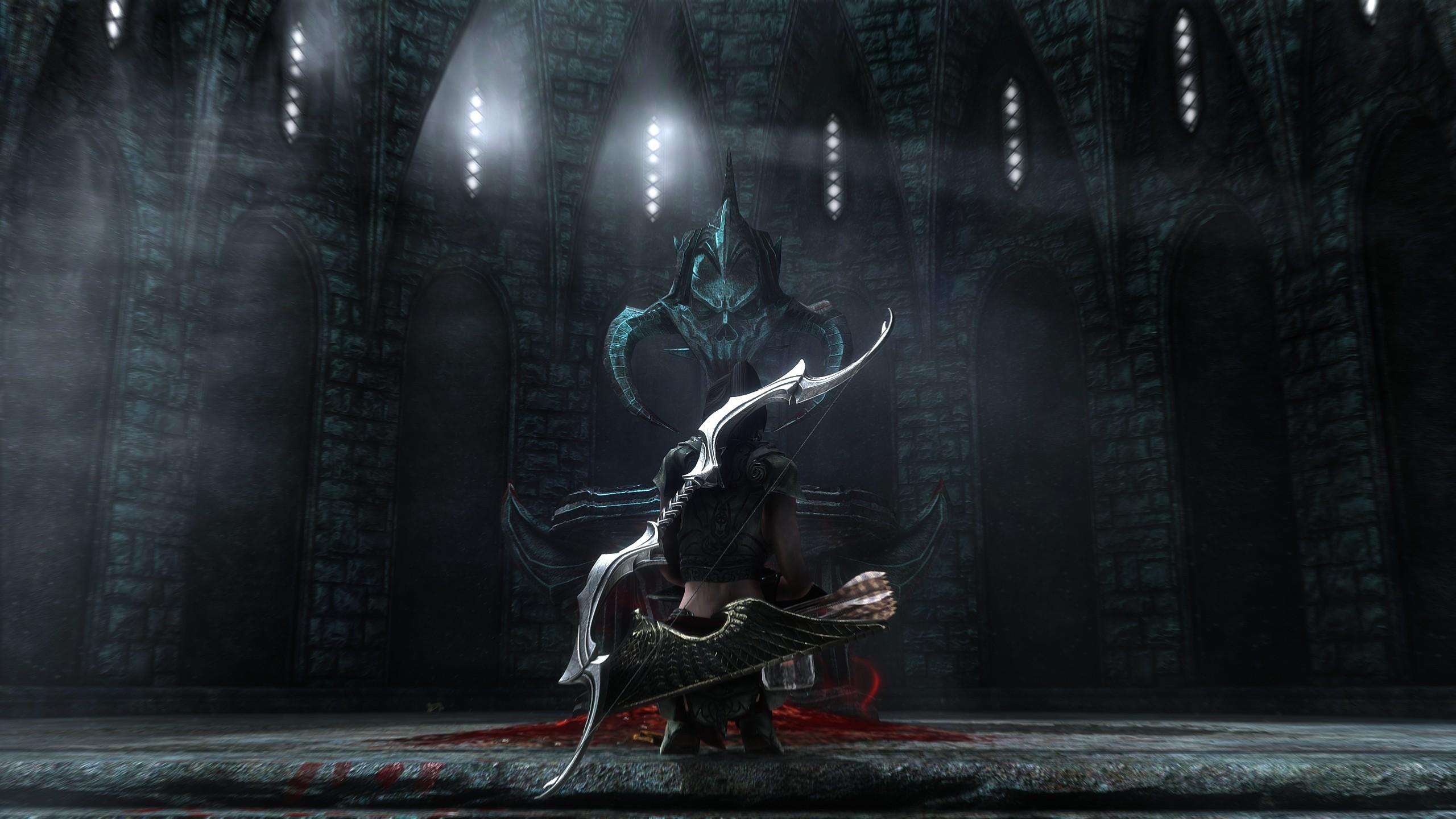 Wallpaper The Elder Scrolls V Skyrim Bow And Arrow Video