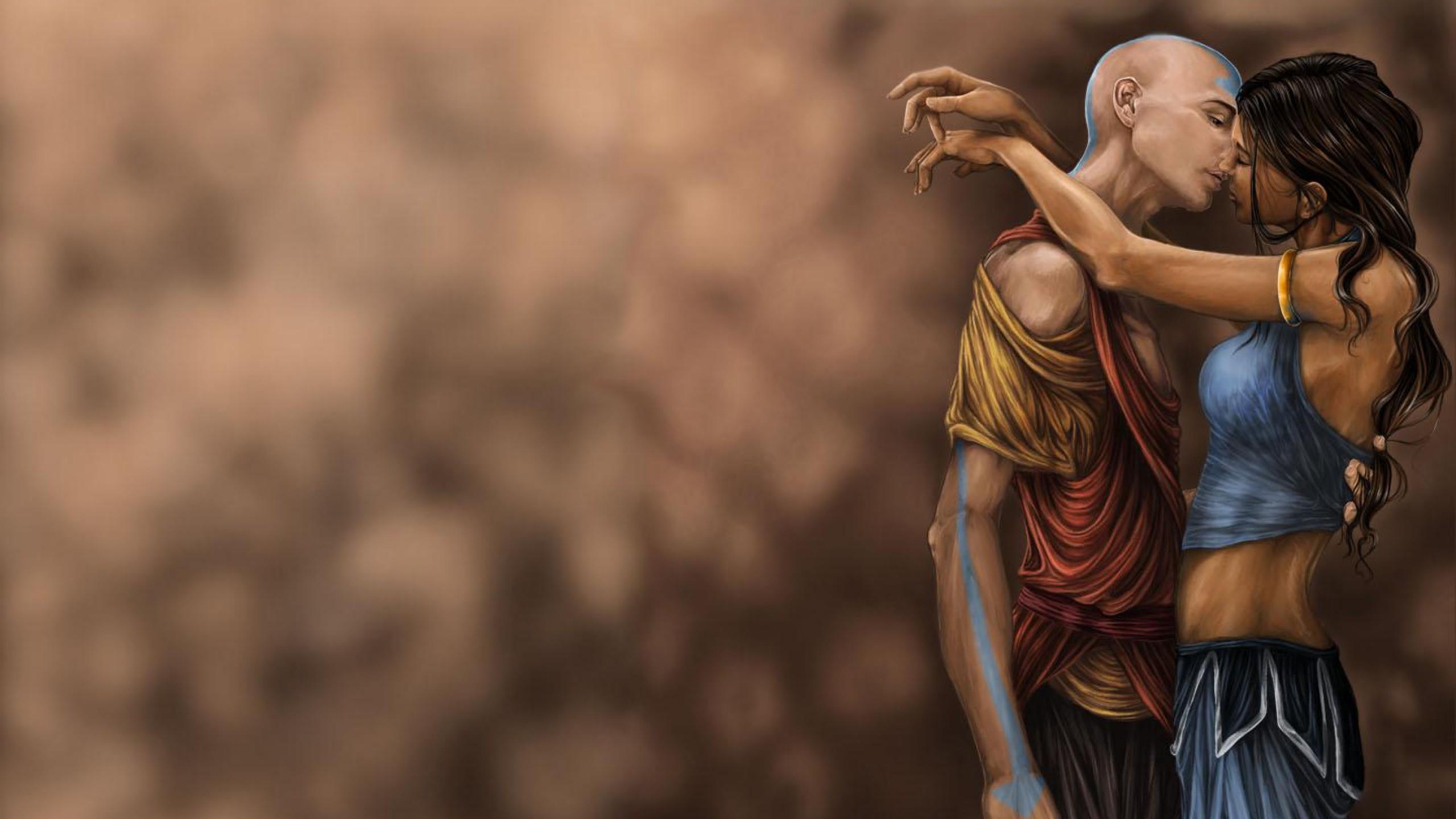Aang Korra wallpaper : the legend of korra, avatar the last airbender