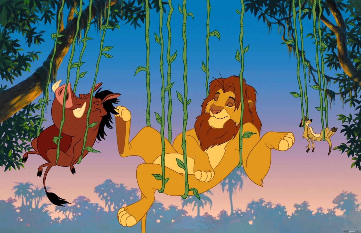 Fond D écran Le Roi Lion Disney Timon Pumba Simba