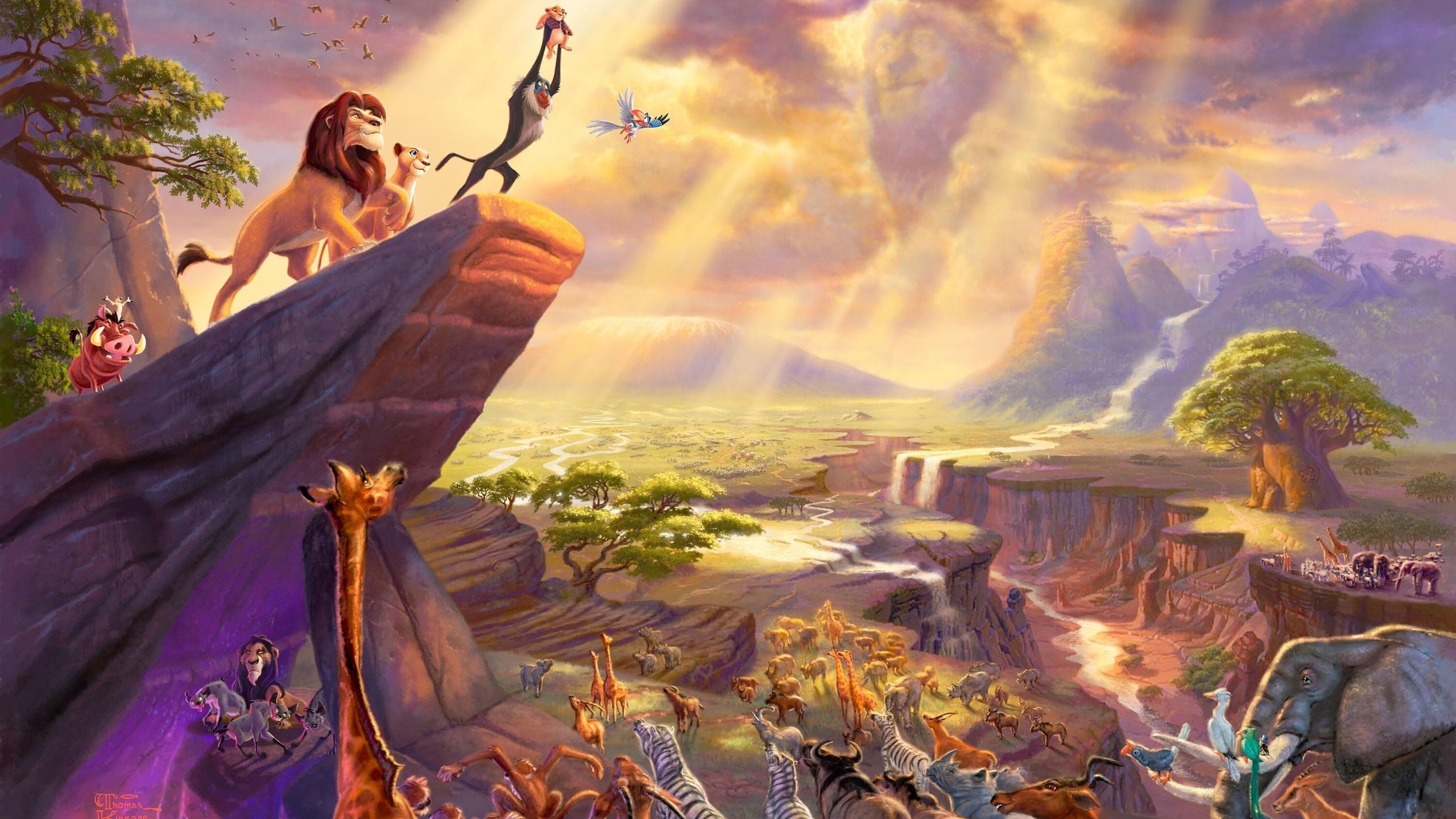 デスクトップ壁紙 ライオンキング ディズニー 神話 ラフィキ
