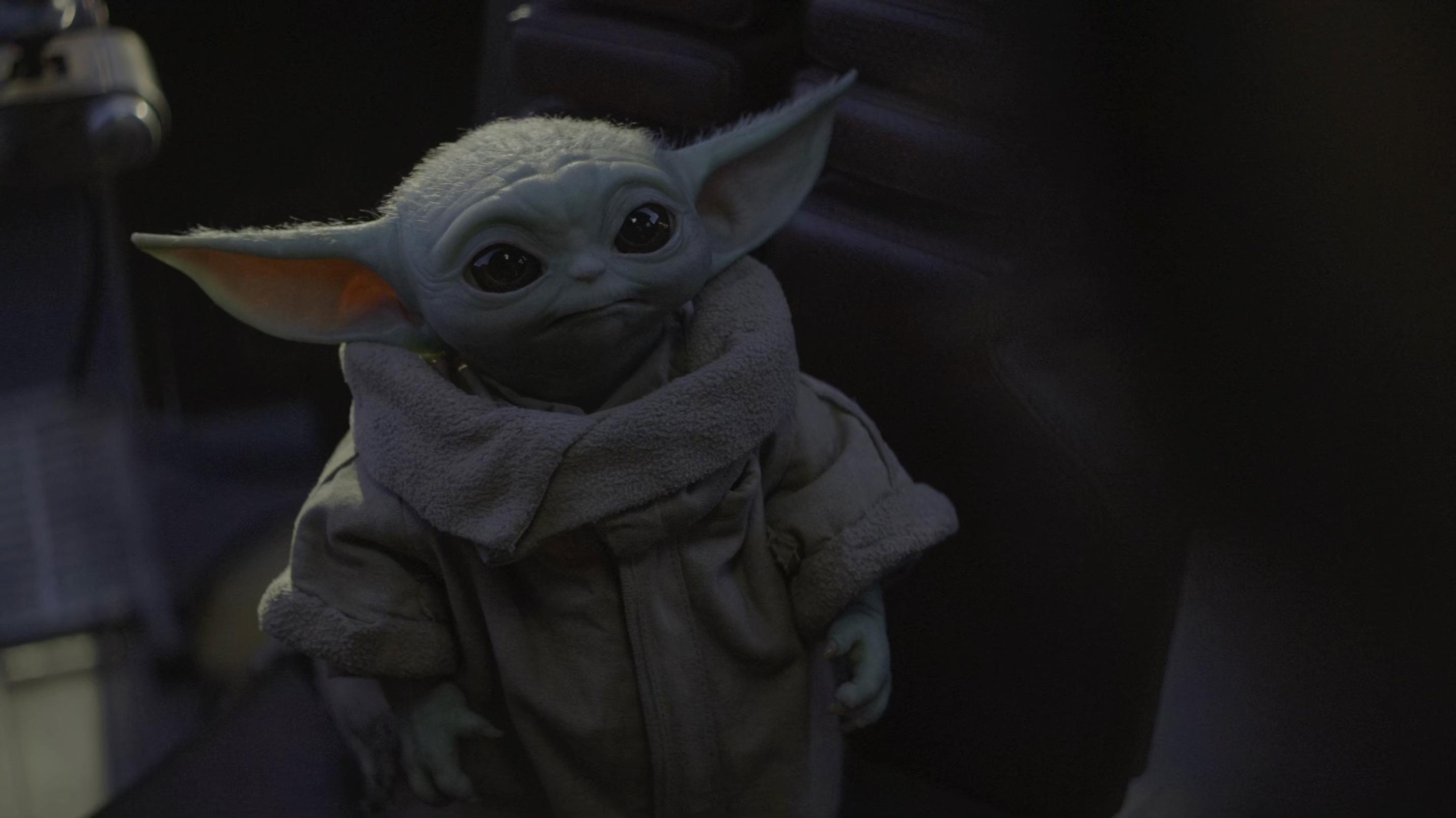 Wallpaper : The Mandalorian, Baby Yoda 2860x1608 ...