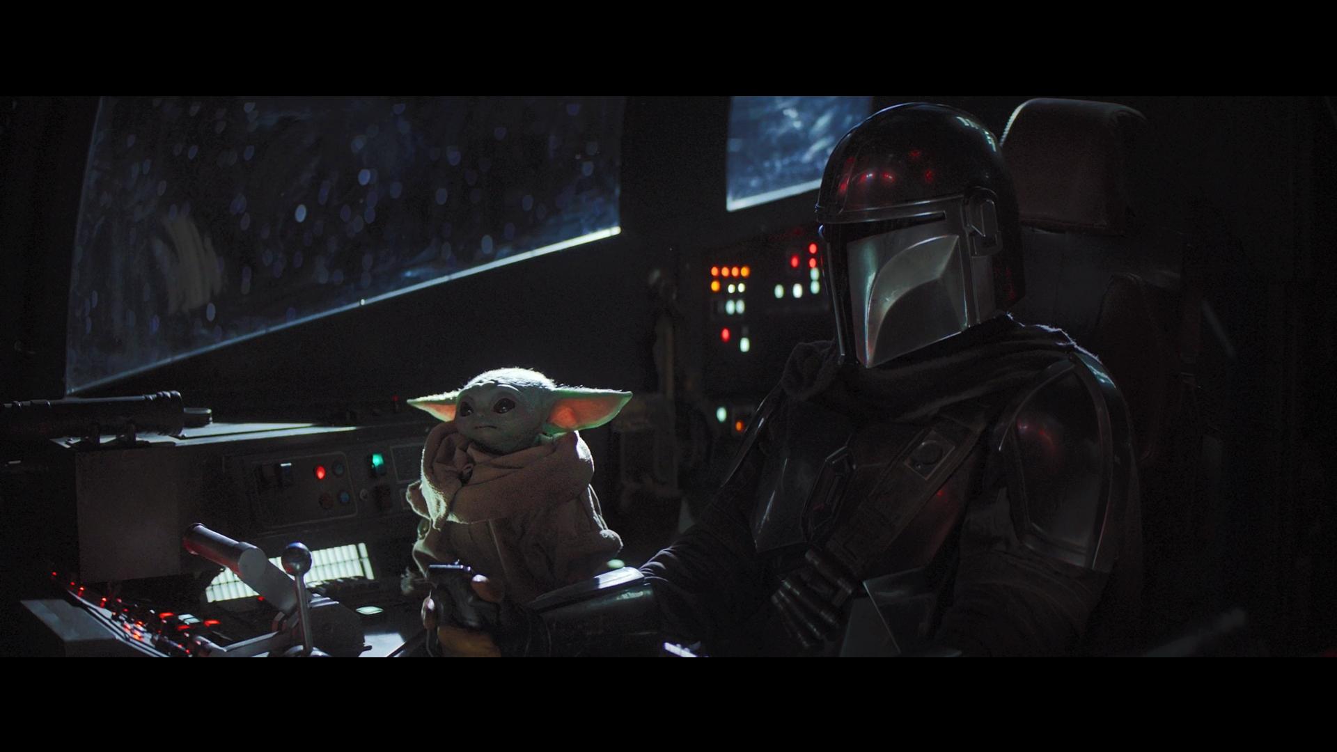The Mandalorian Star Wars Yoda Baby Yoda tv series movie scenes space science fiction 1720851