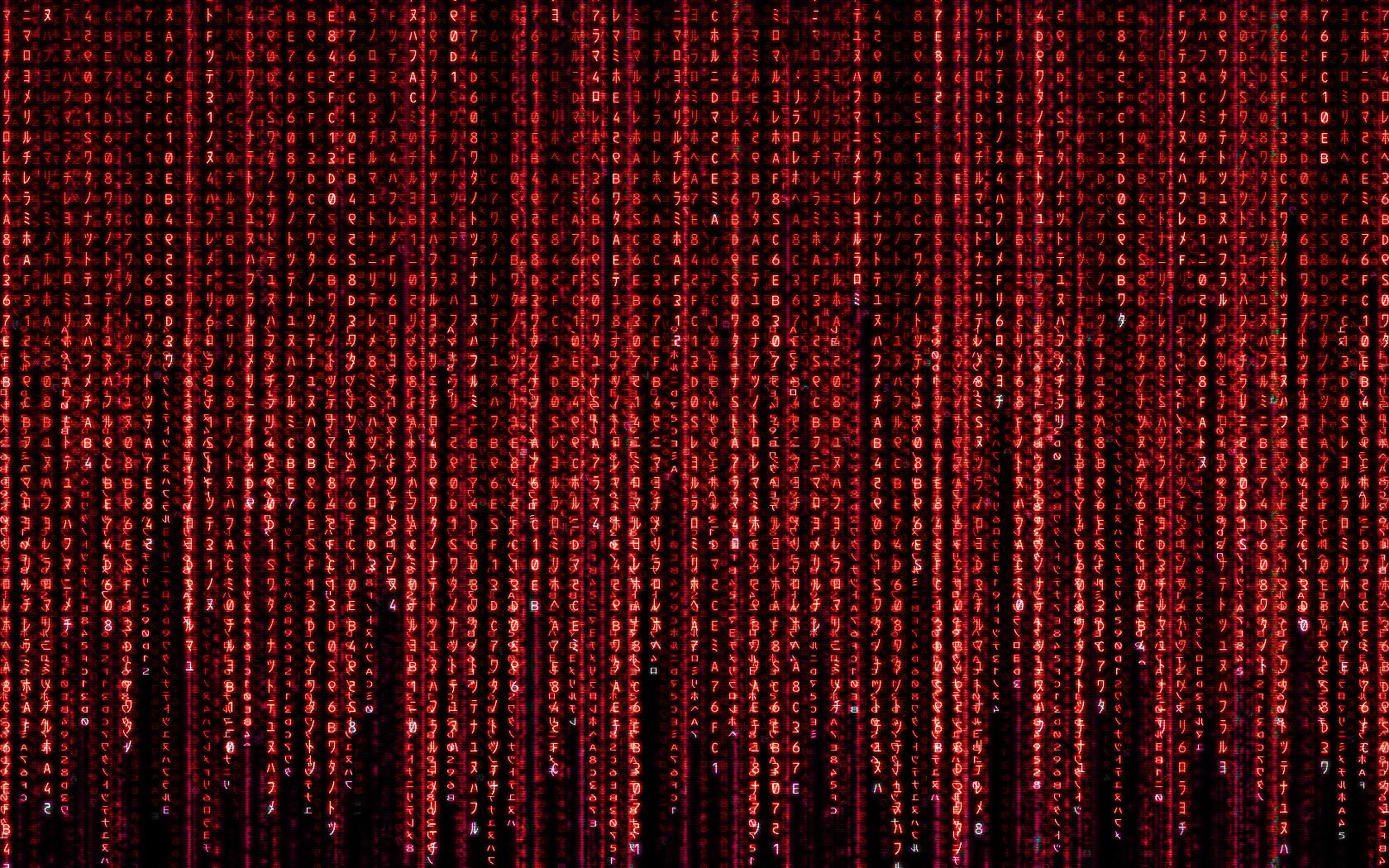 Wallpaper The Matrix code red movies 1680x1050