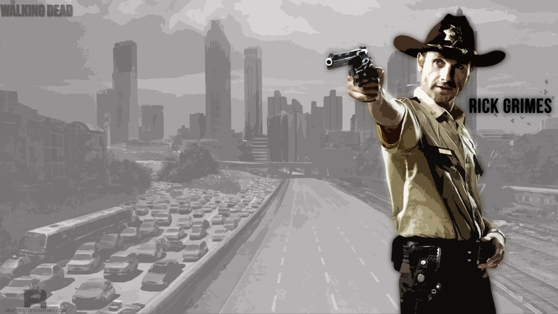 Wallpaper The Walking Dead Oscars Rick Grimes Tv Series