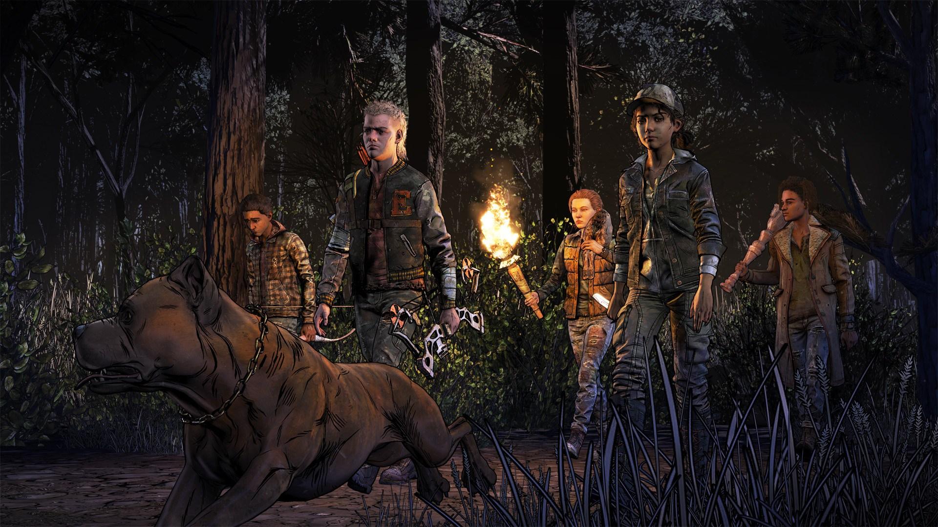 Wallpaper The Walking Dead Walking Dead A Telltale Games Series