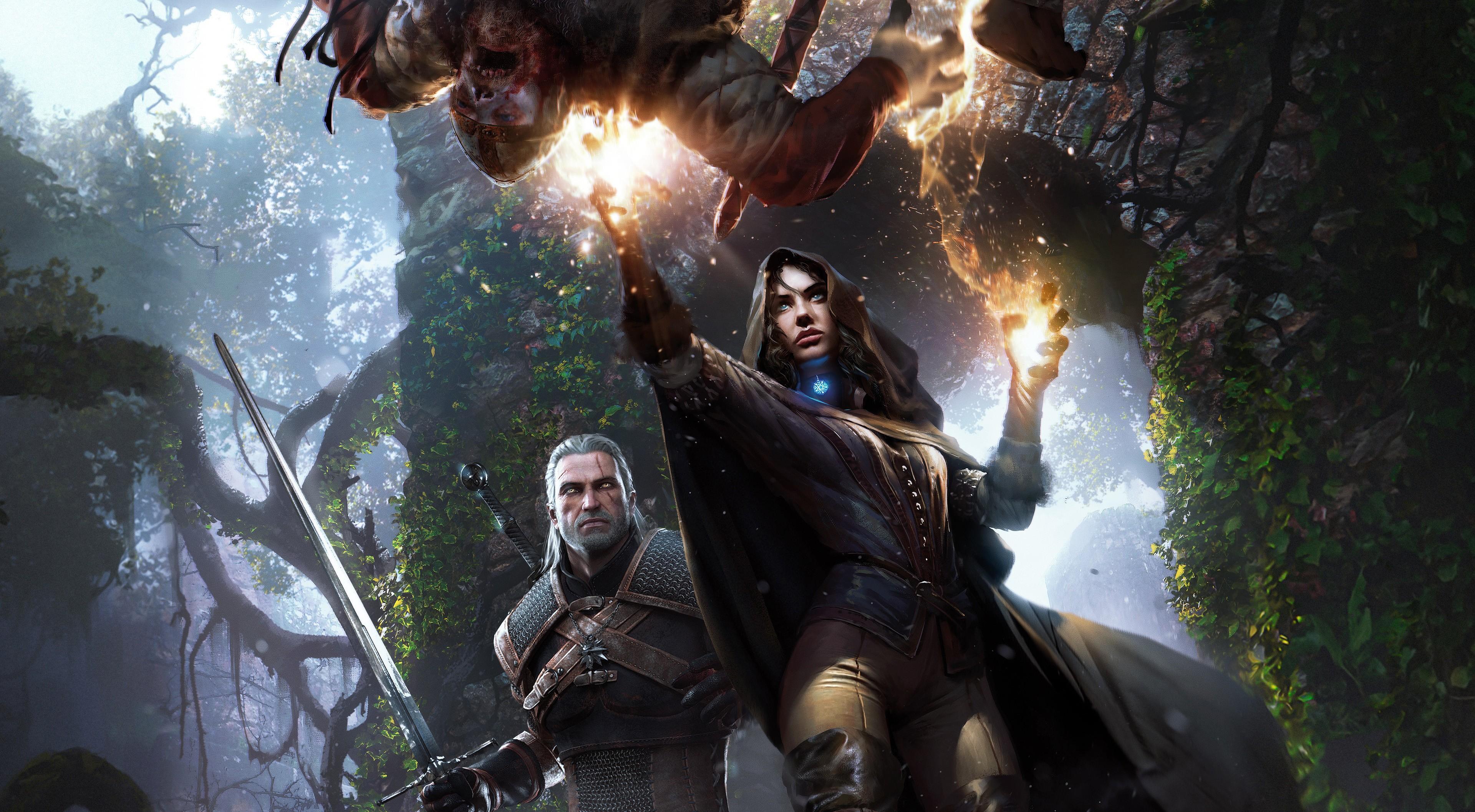 Fondos De Pantalla La Caza Salvaje De Witcher 3 Geralt De