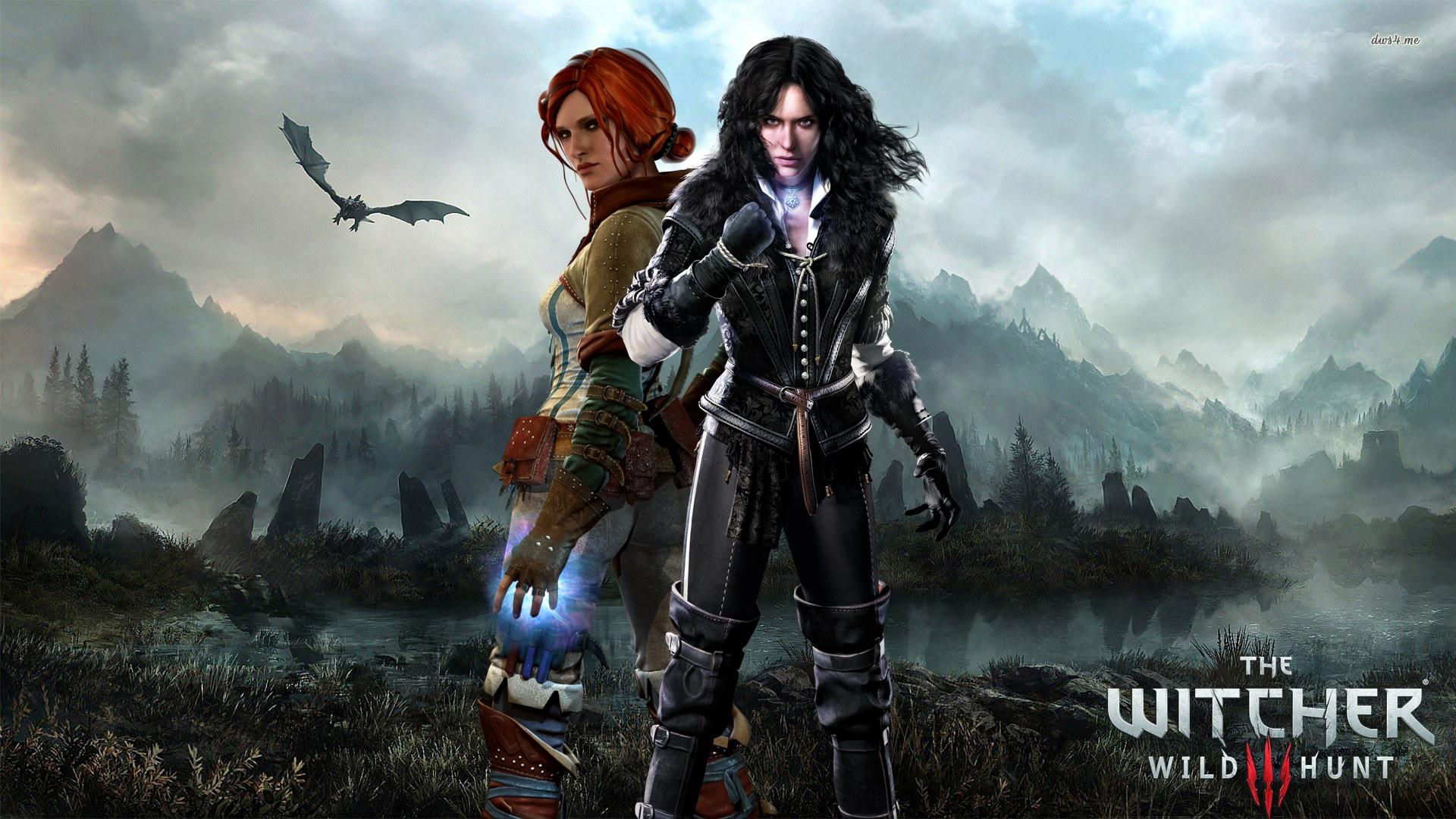 Wallpaper The Witcher 3 Wild Hunt Triss Merigold Mythology