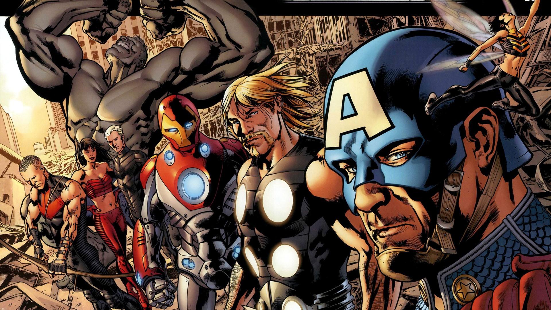 Fond D Ecran Thor Anime Dessin Anime Super Heros Marvel
