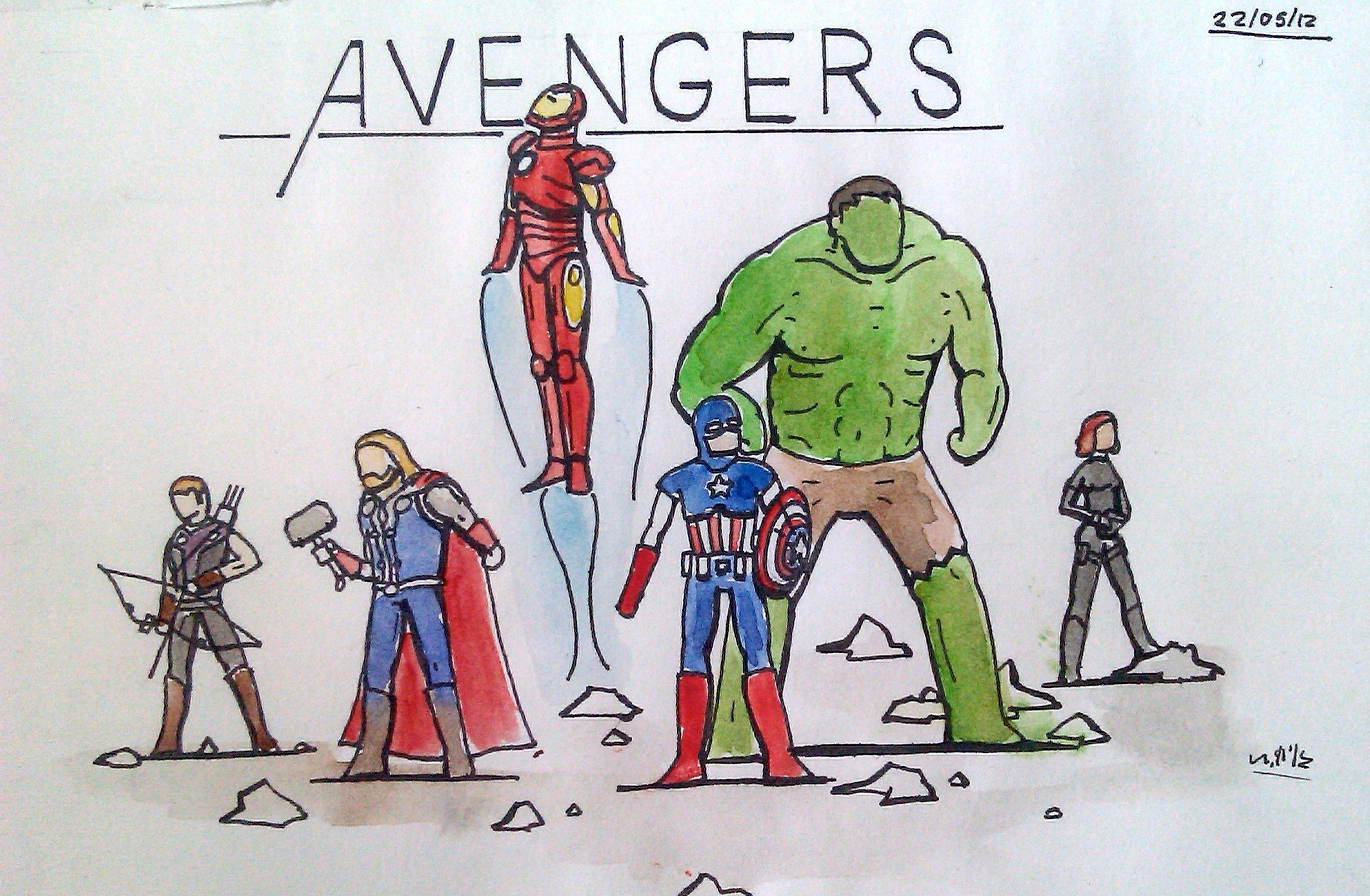 papel de parede thor desenho animado super heroi padronizar