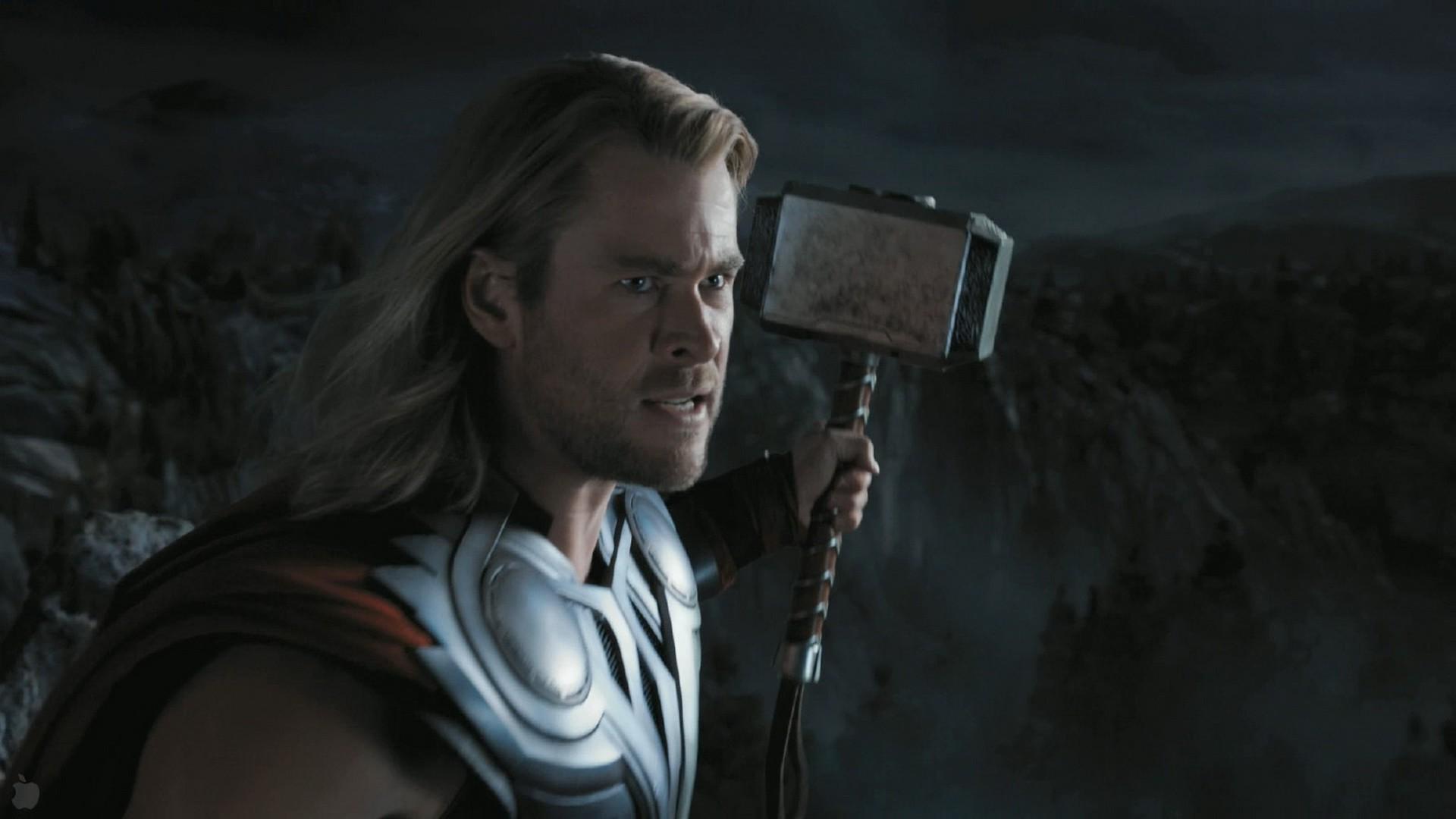 Wallpaper Thor Movies The Avengers Midnight Mjolnir Chris