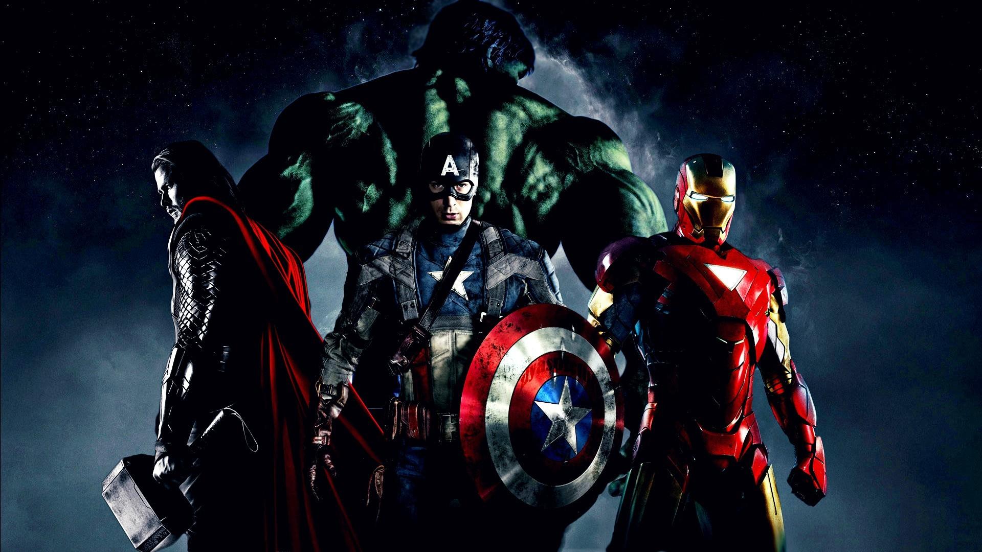 wallpaper thor superhero marvel comics iron man hulk captain