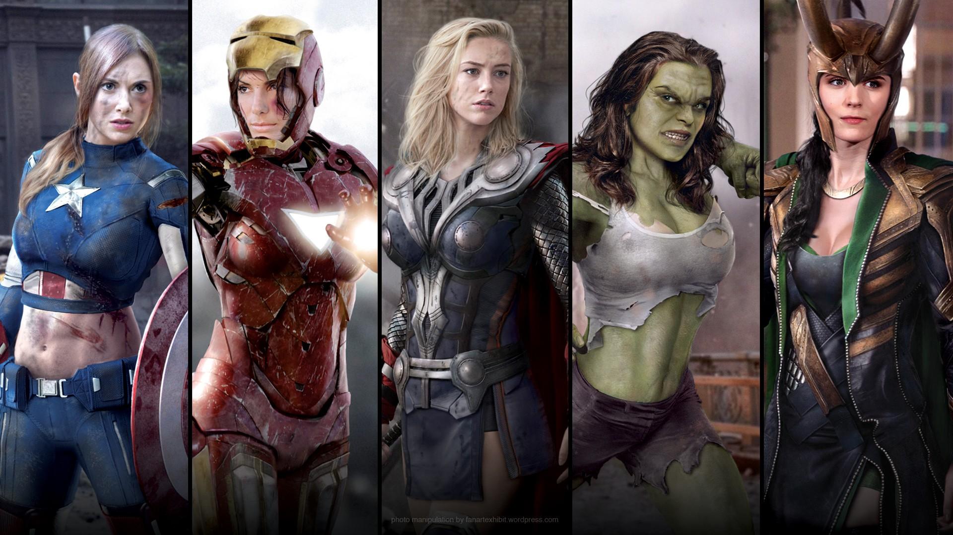 Marvel heroes porn porn gallery