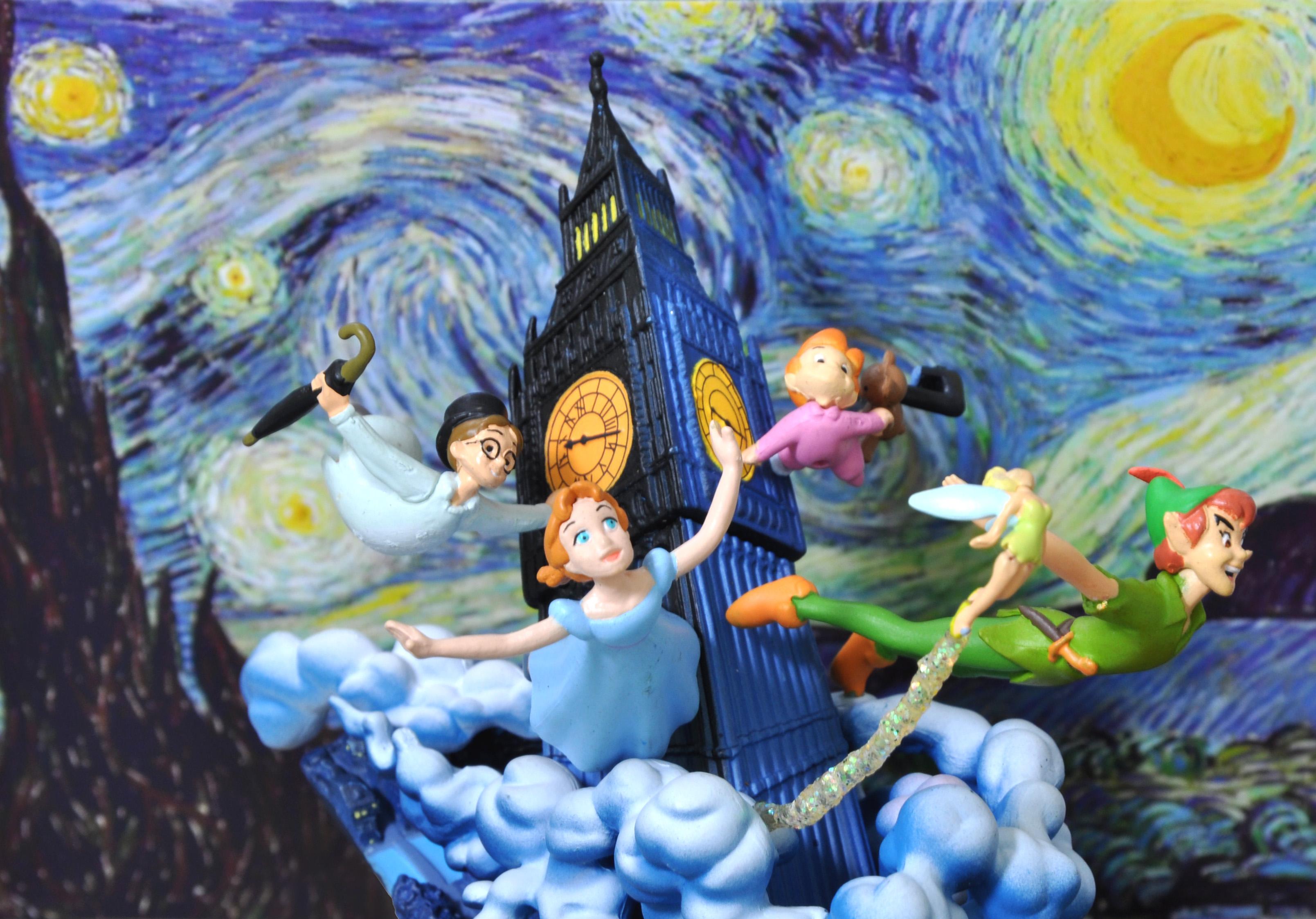 Wallpaper Tinkerbell Bigben Peterpan Neverland