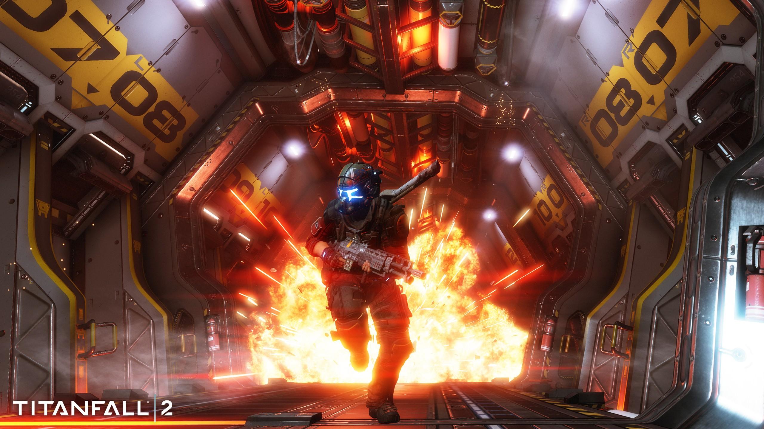wallpaper : titanfall 2, pc gaming, games, screenshot, pc game