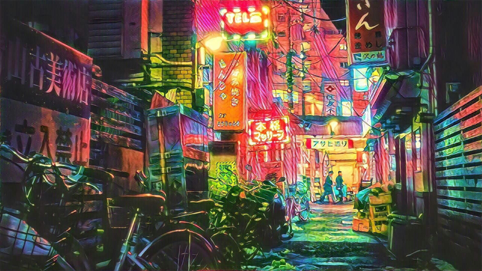 Hintergrundbilder Tokio Filter Fotografie 1920x1080