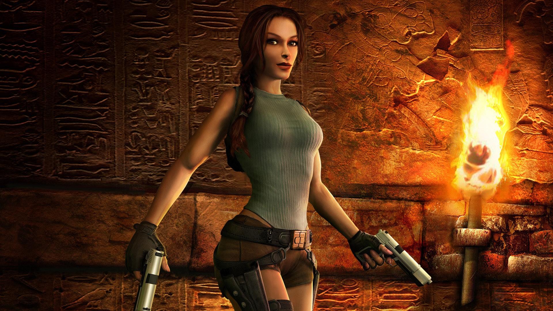 Tomb Raider Lara Croft Video Games Anniversary