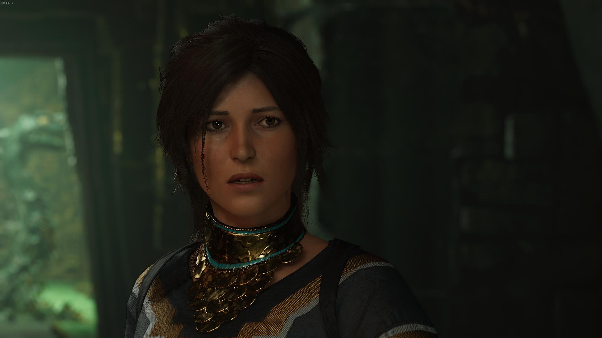 Natural and Pretty Lara at Shadow of the Tomb Raider Nexus