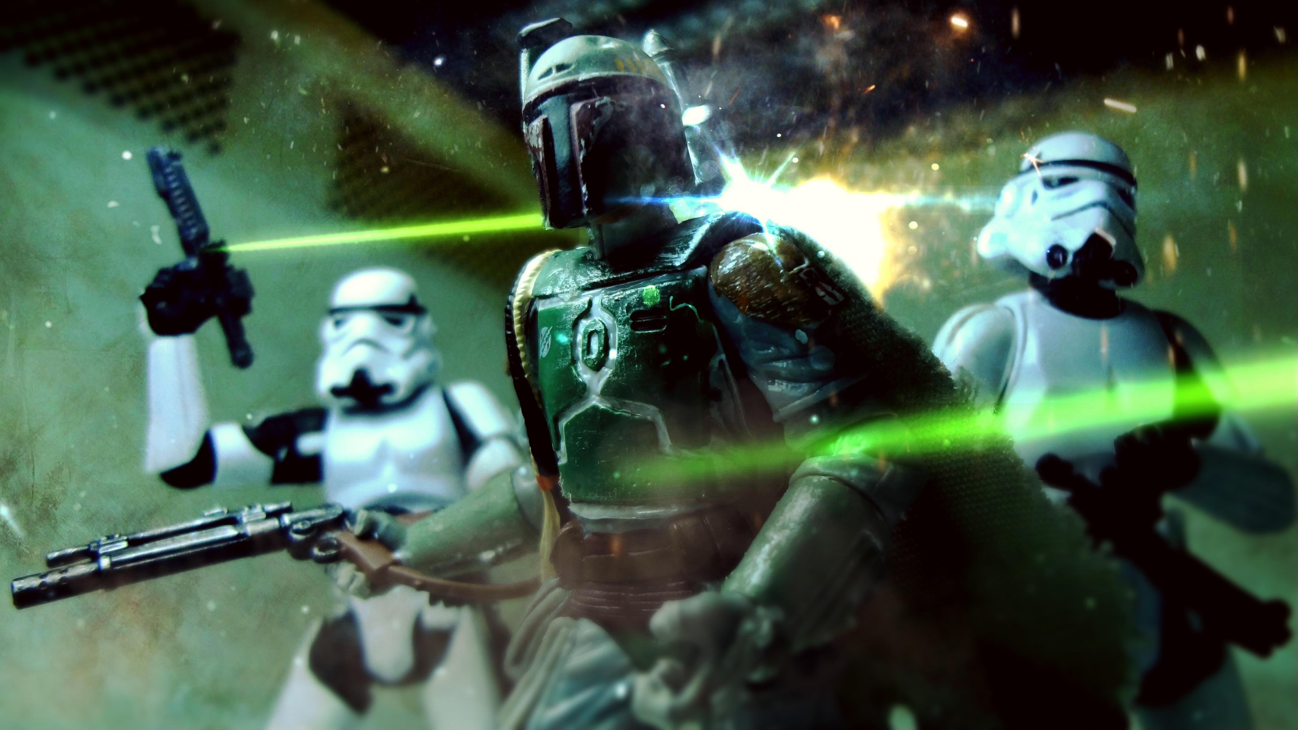 Toy Photography Star Starwars Stormtroopers Stormtrooper Wars Sisi Hasbro Fett