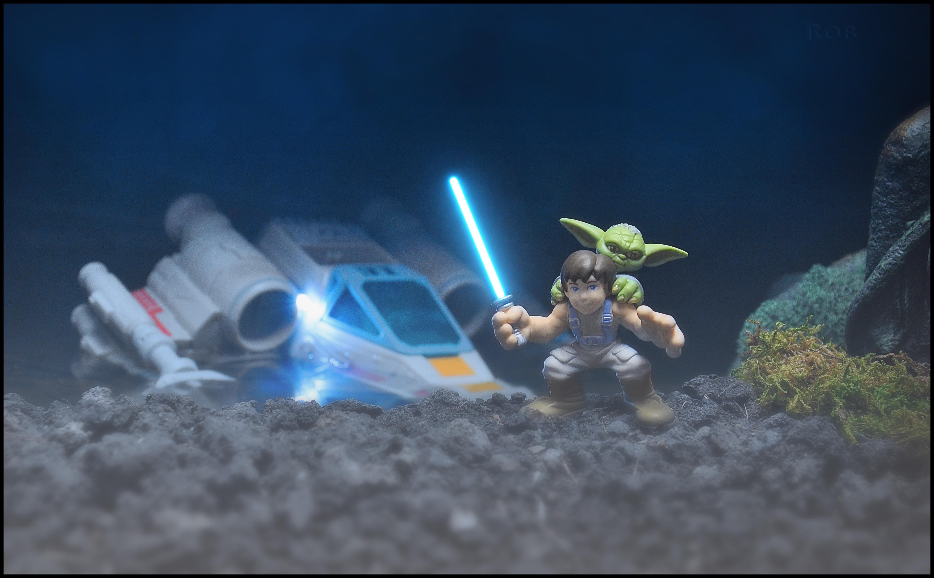 Toy Starwars Nikon Yoda Xwing Collectible Lukeskywalker Hasbro Dagobah Theempirestrikesback Galacticheroes Nikond90